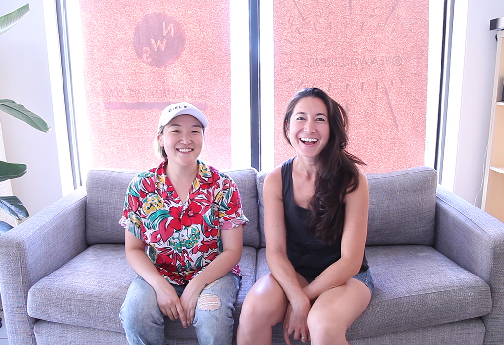 Sandra (left) and Melissa (right)