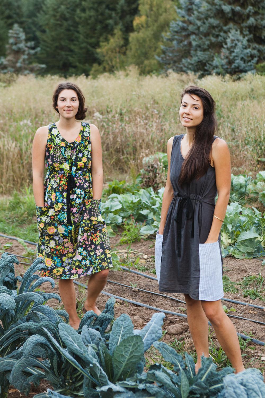 Sonya (left) and Nina (right)