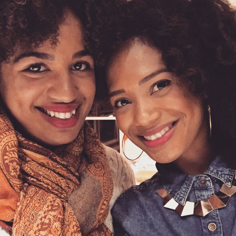 Christina (left) and Kamille (right), makers of the podcast Unfriendly Black Hotties