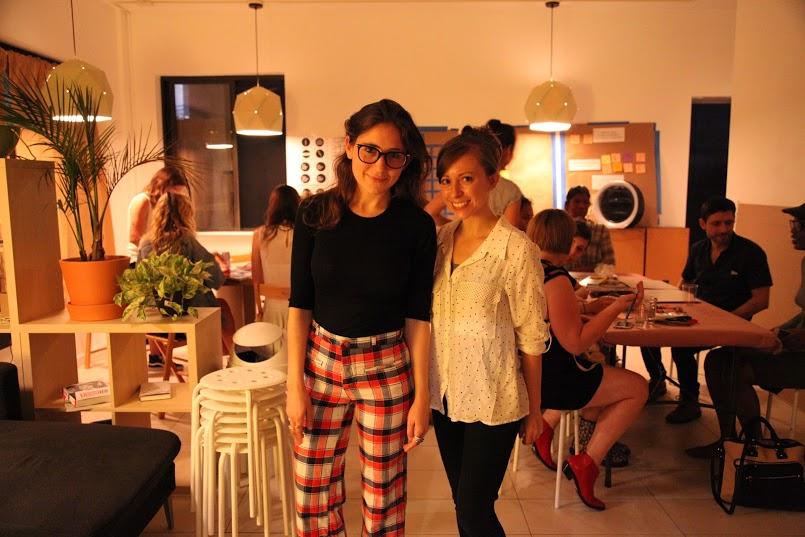 Sara (left) and Vanessa (right)