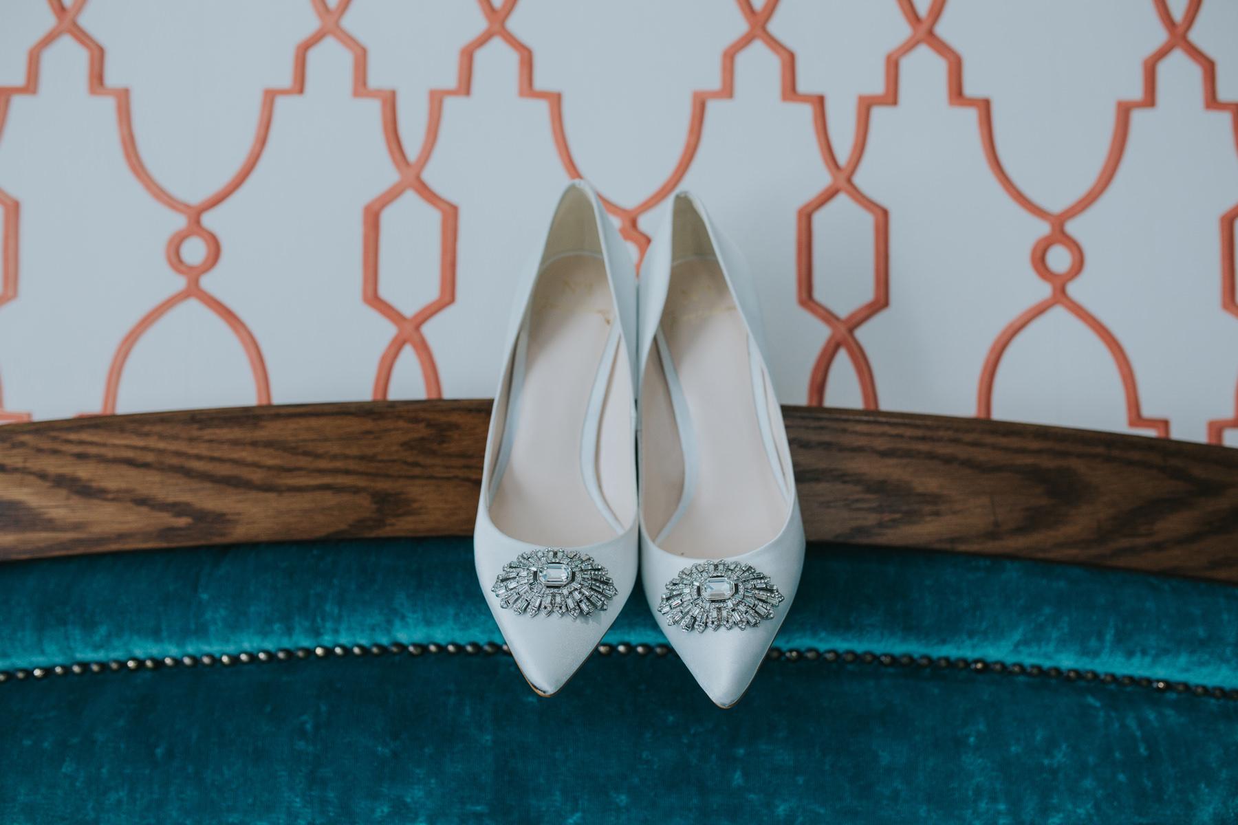 Richmond Wedding Photographer-Jenny-Packham-bridal-shoes-Orange-Tree-CRL-1.jpg