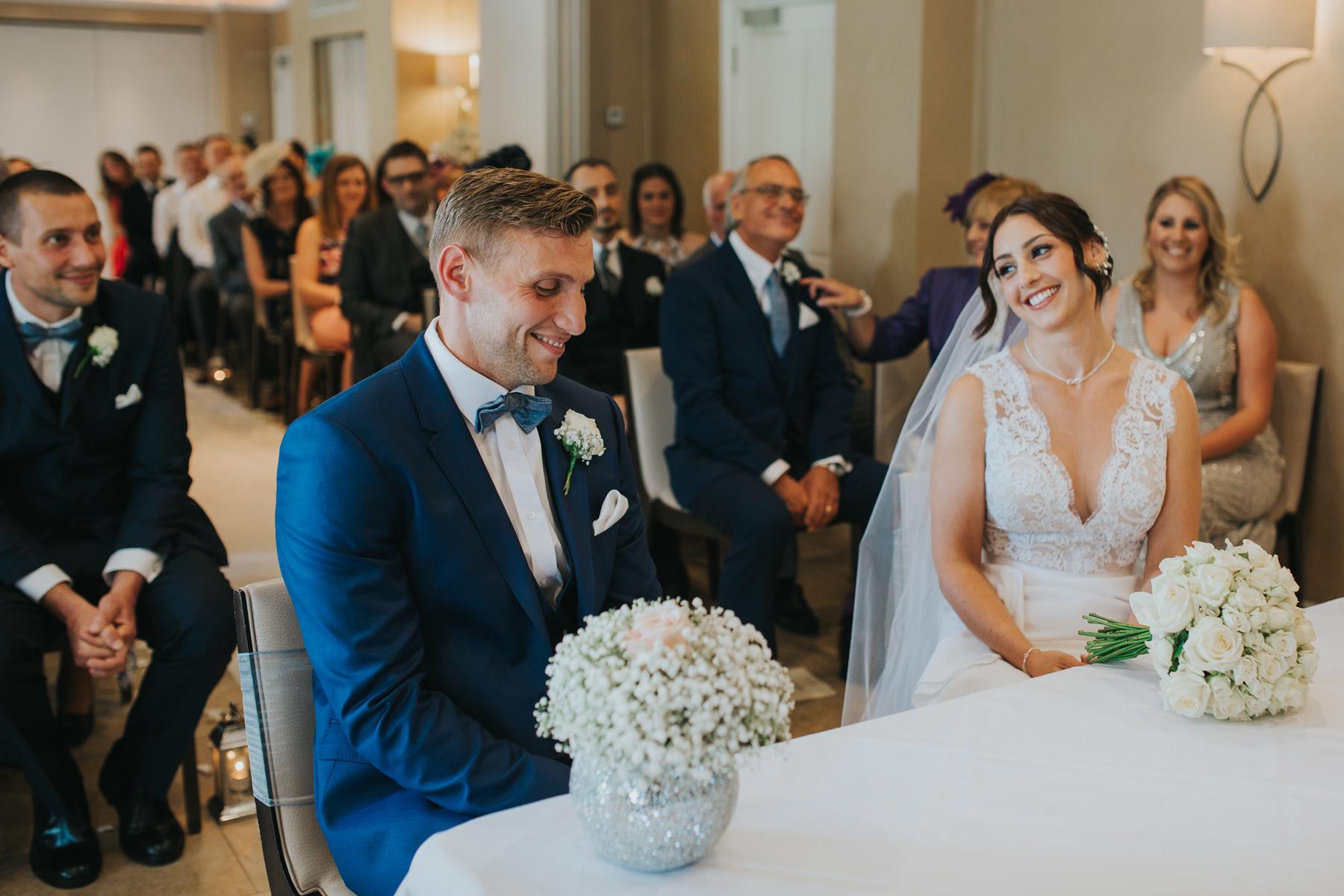 The Bingham Wedding Photographer London--groom bride marriage ceremony-CRL-142.jpg