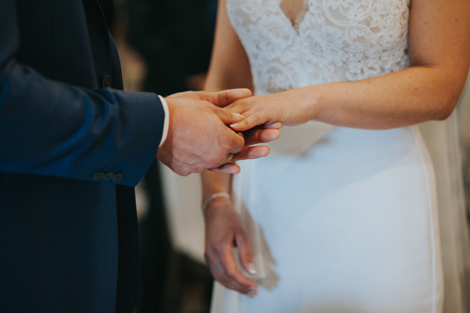 Richmond The Bingham Wedding Photographer London--groom bride ceremony exchanging rings-CRL-162.jpg