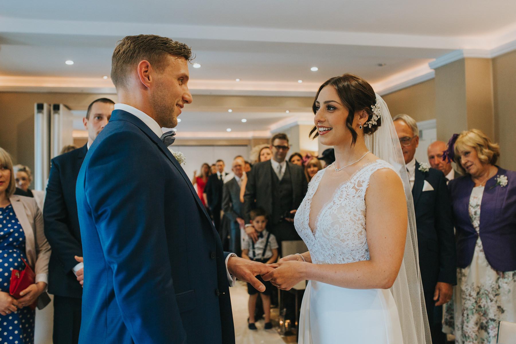 Richmond London Wedding Photographer--bride groom getting married-CRL-167.jpg