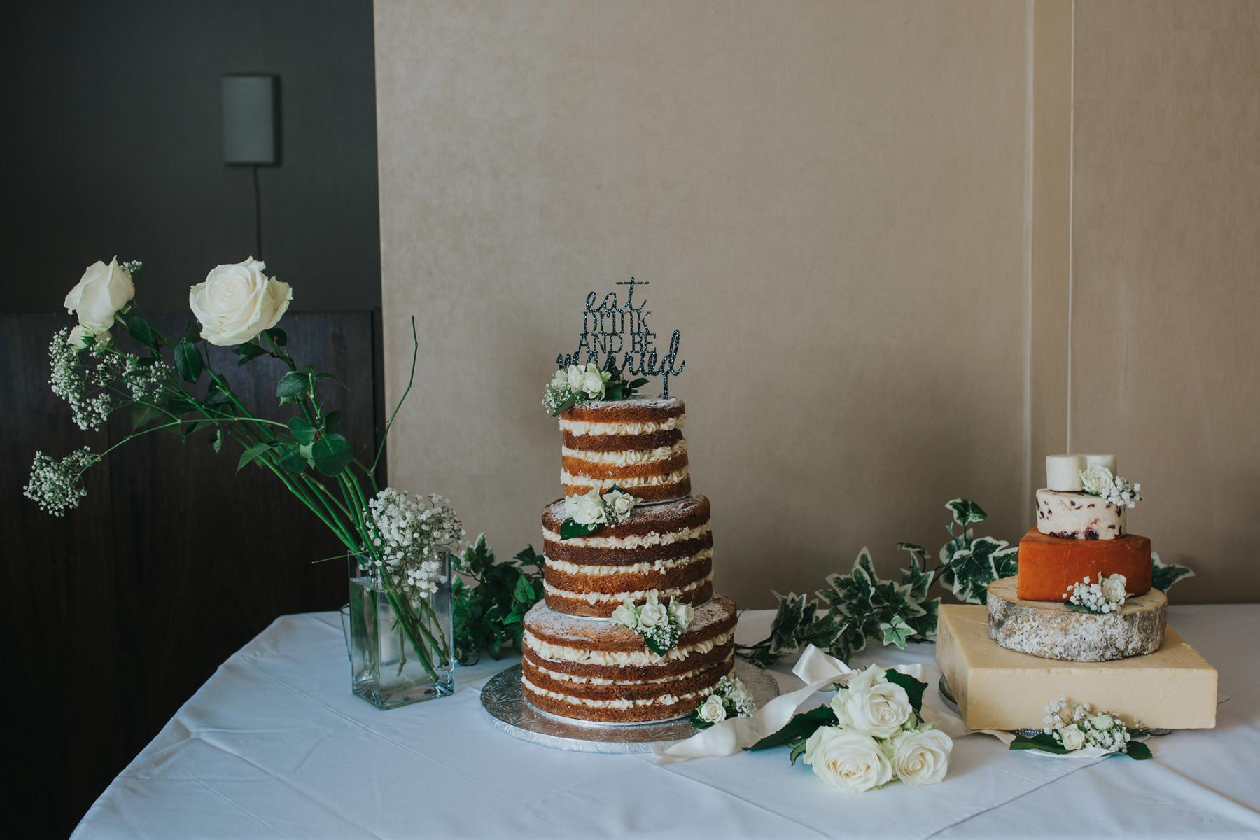 CRL-259-The Bingham wedding Richmond-naked cake mr mrs cake topper  cheese wedding cake.jpg