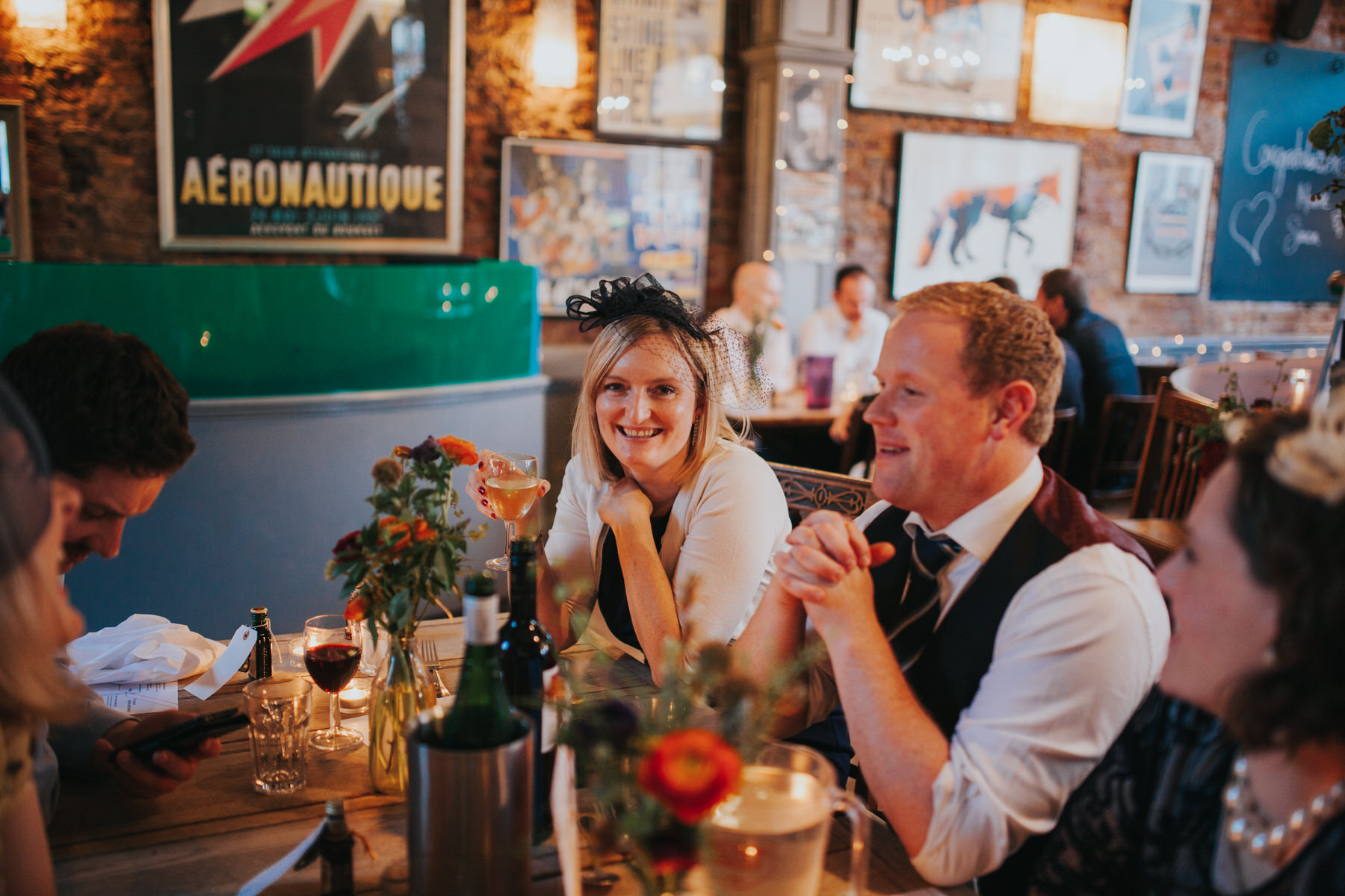 The Londesborough Pub Stoke Newington wedding photographer