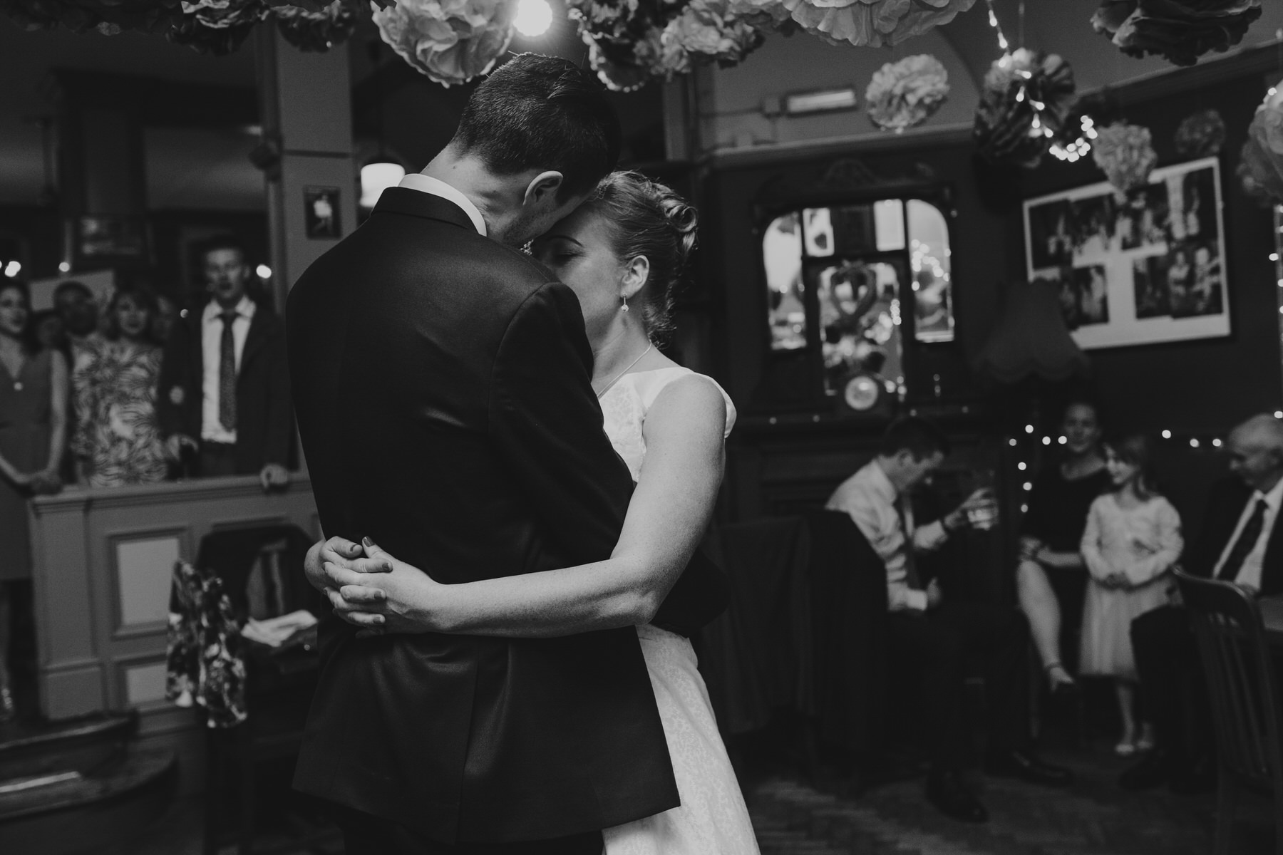 310-Londesborough-Pub-wedding-first-dance-BW.jpg