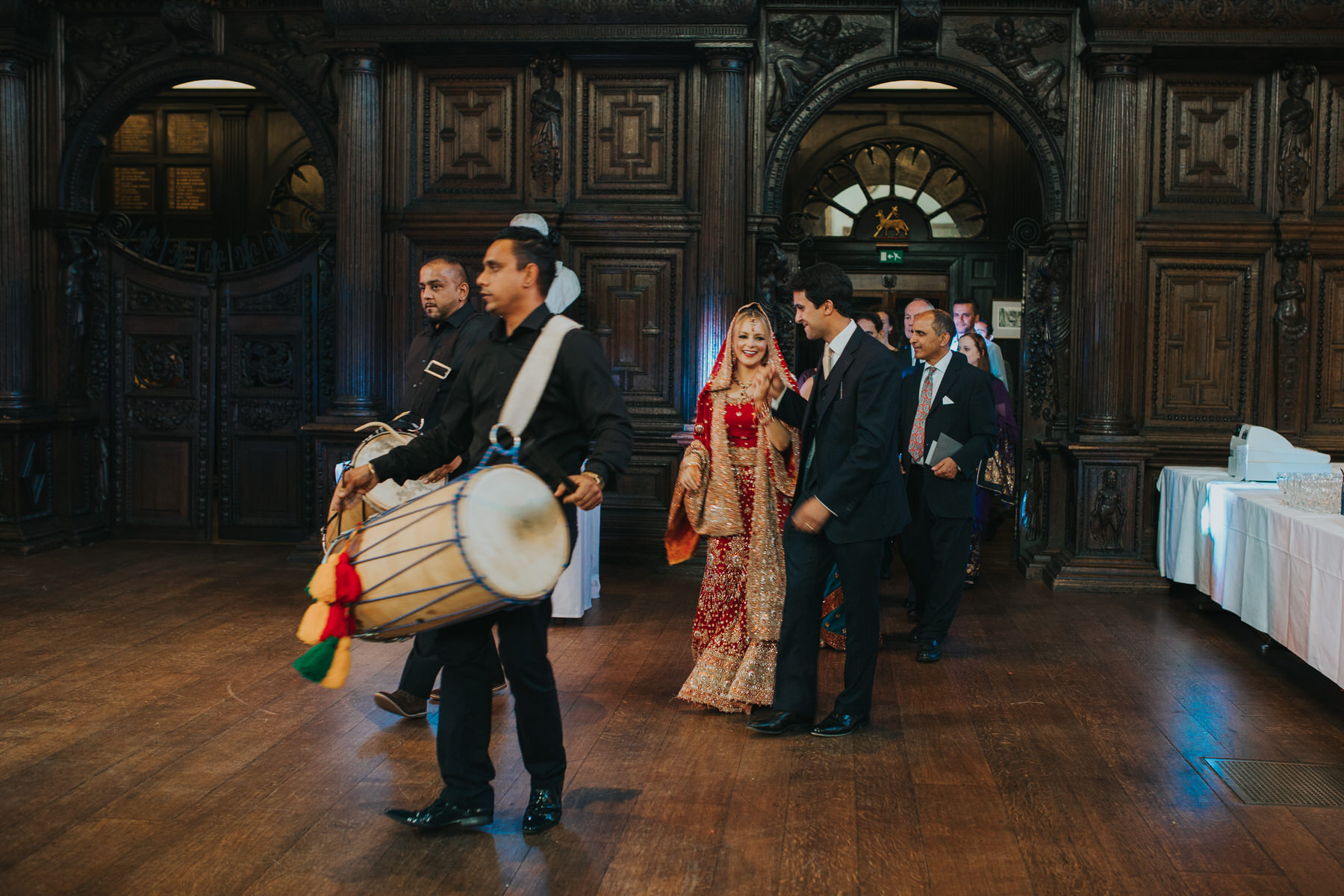 171-Anglo-Asian-London-Wedding-Dhol-Squad-lead-couple-family.jpg