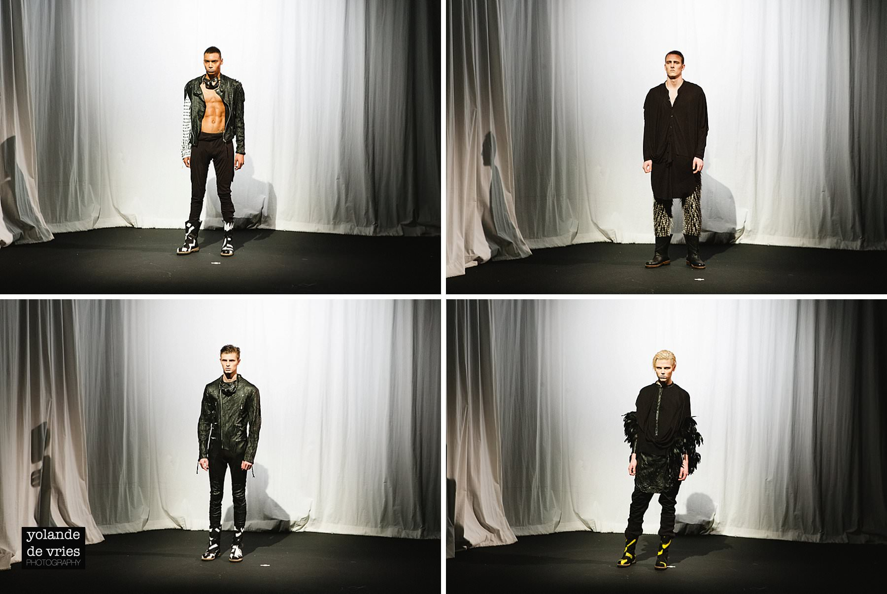 Horace four designs AW11 fashion reportage LFW photographer