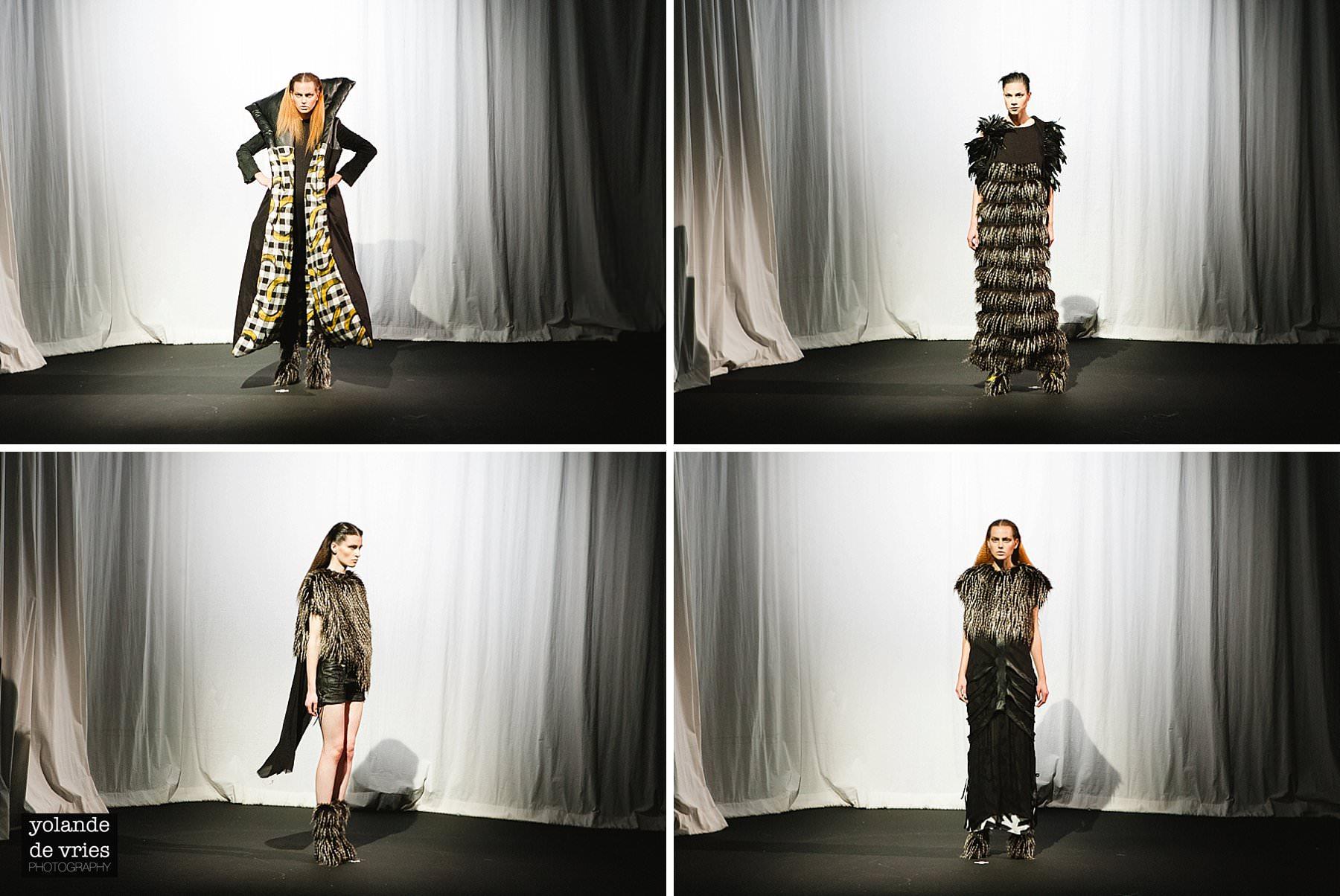 four fierce womens looks London fashion photographer