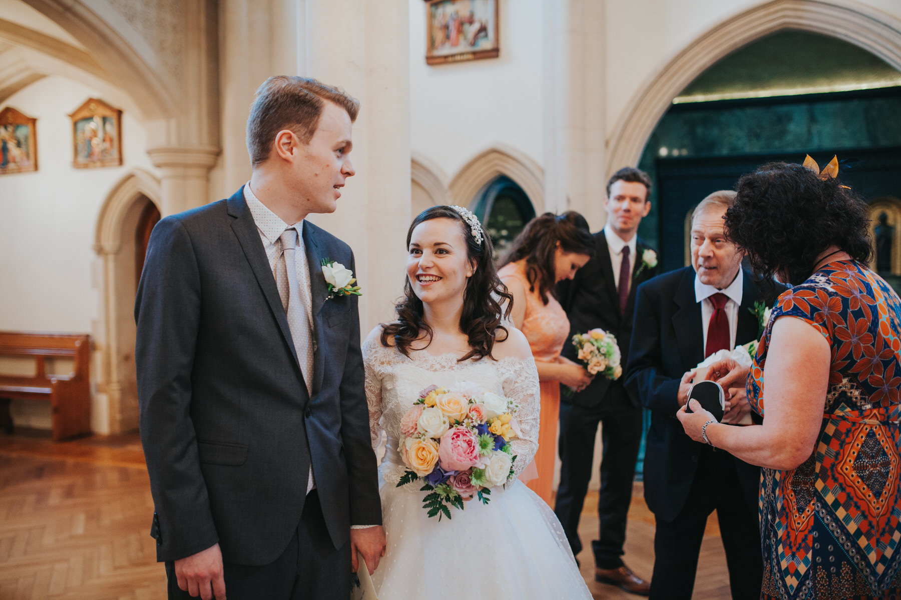 74 newly married couple Fulham Catholic Church.jpg