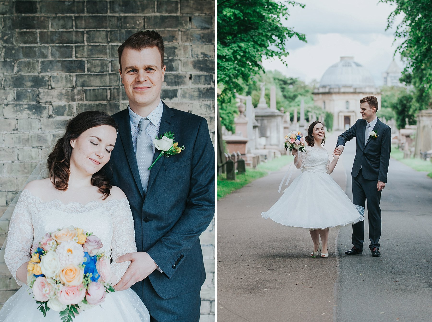 114 groom bride wedding portraits dancing Brompton Cemetery.jpg