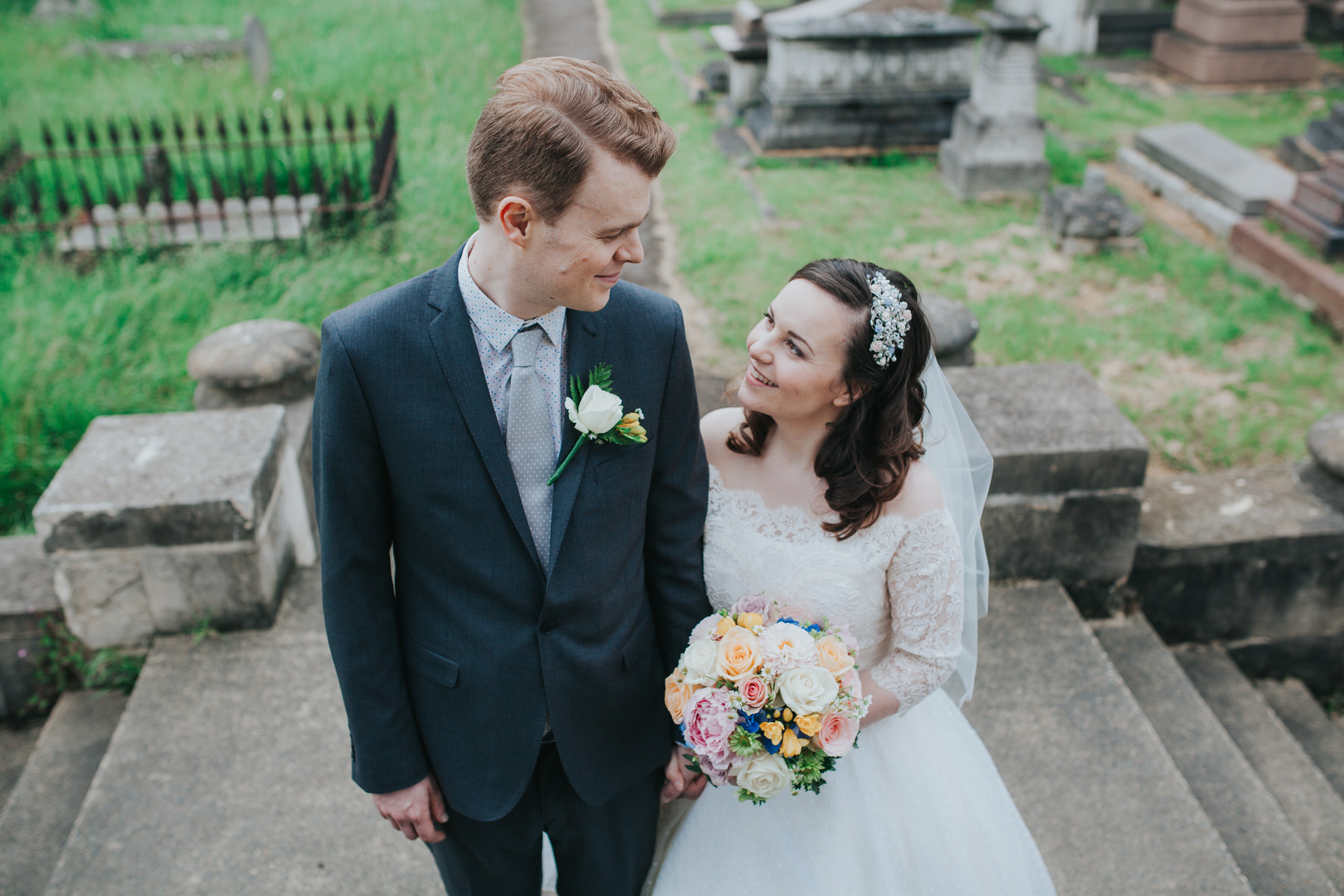 136-groom bride wedding portraits Brompton Cemetery_.jpg