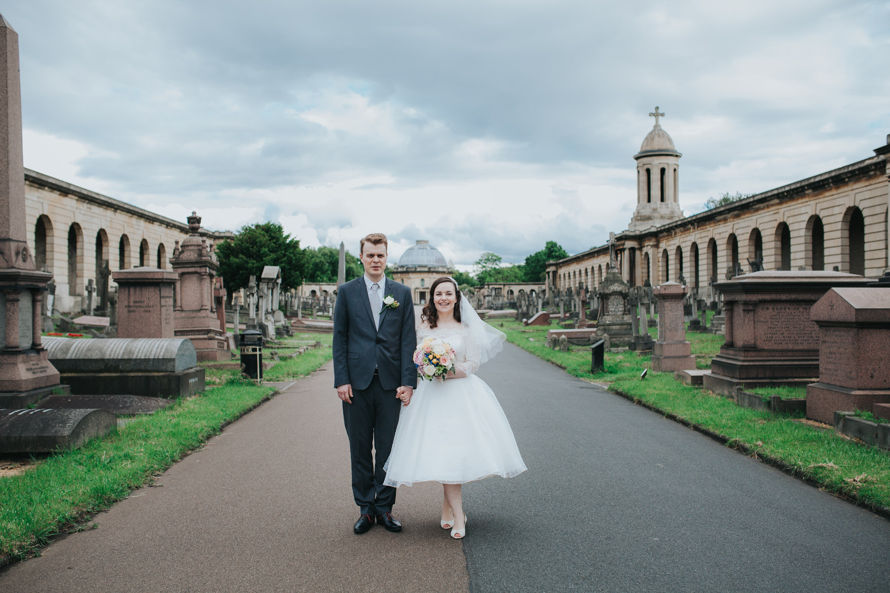 138-groom bride wedding portraits Brompton Cemetery_.jpg