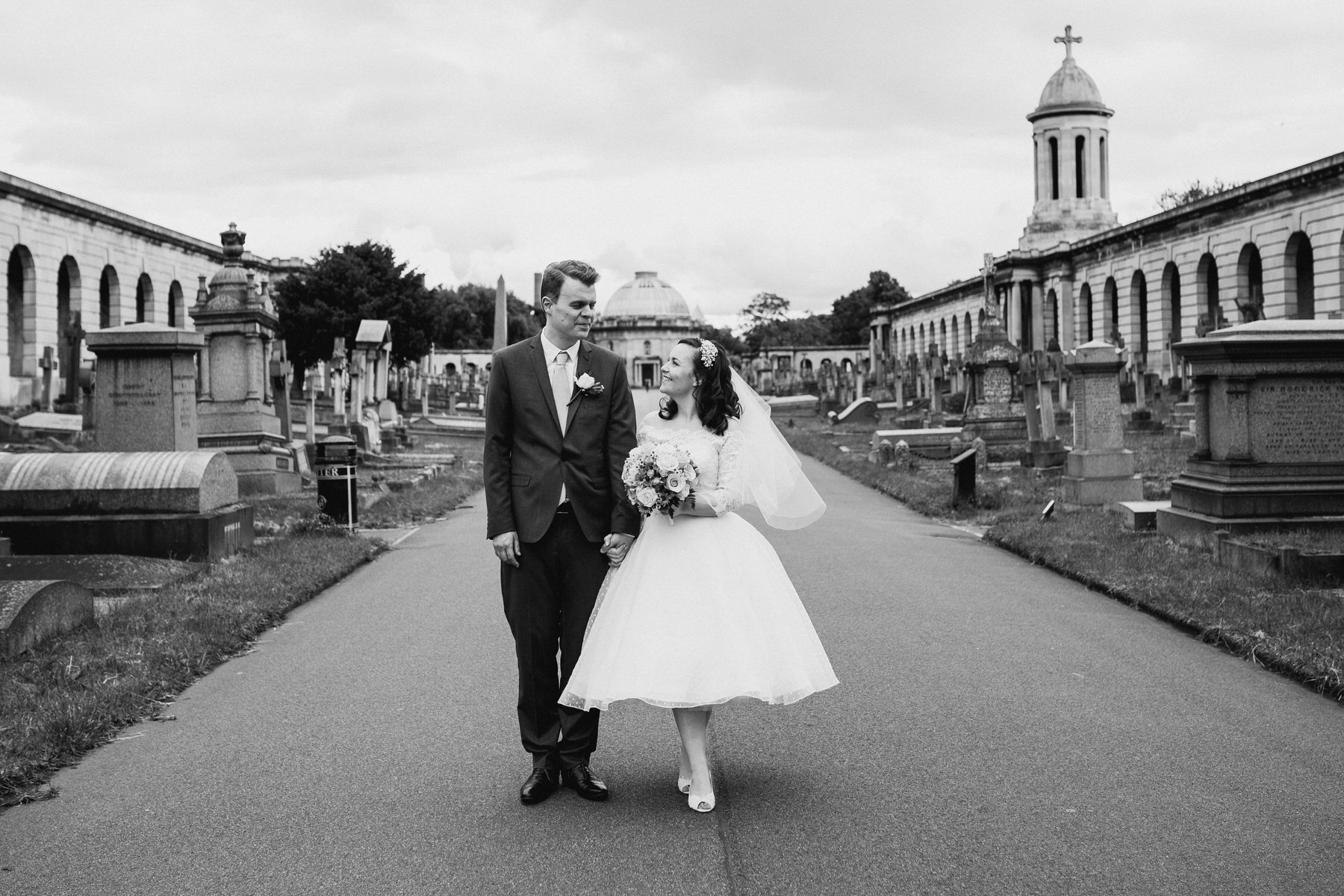139-groom bride wedding portraits Brompton Cemetery_.jpg