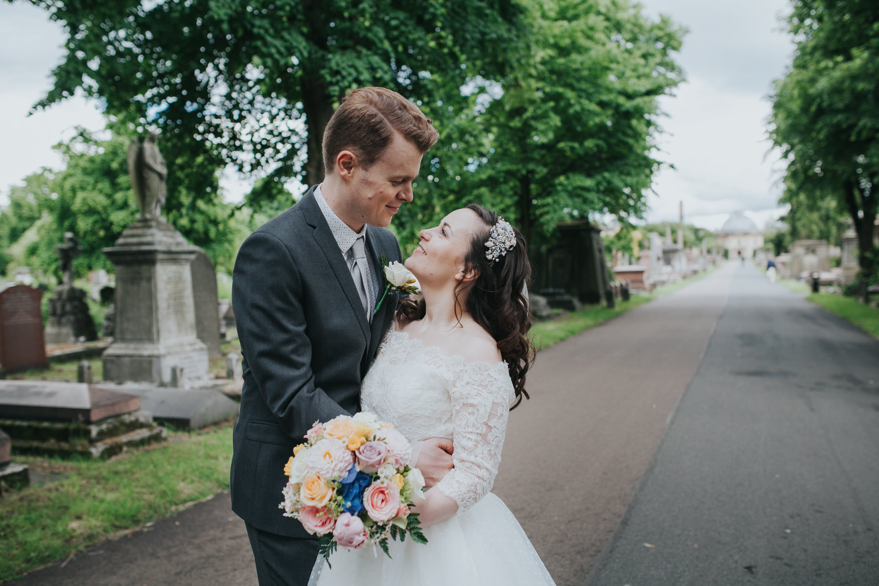 153 groom bride wedding portraits Brompton Cemetery.jpg