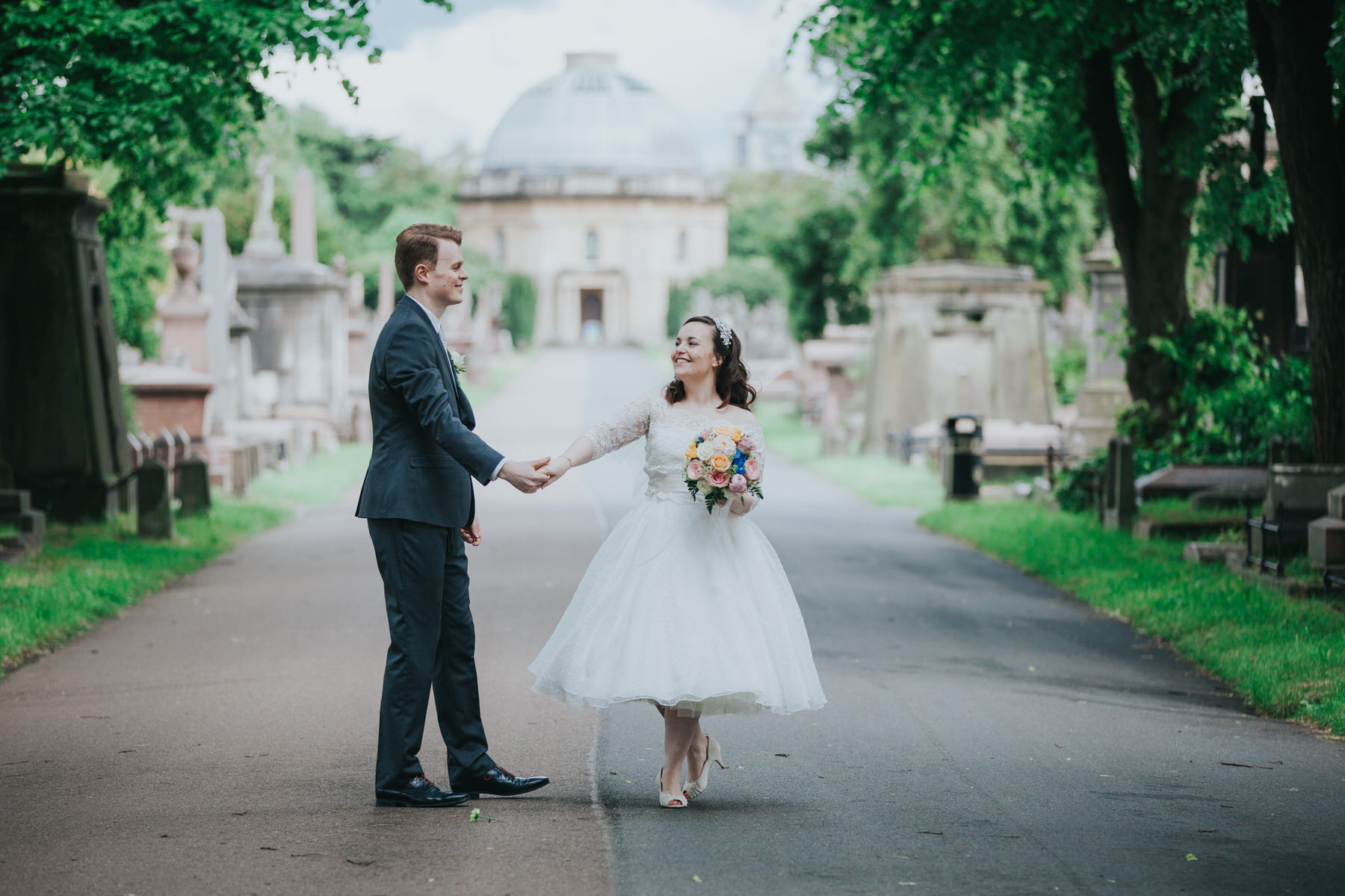 167 groom bride dancing wedding Brompton Cemetery.jpg
