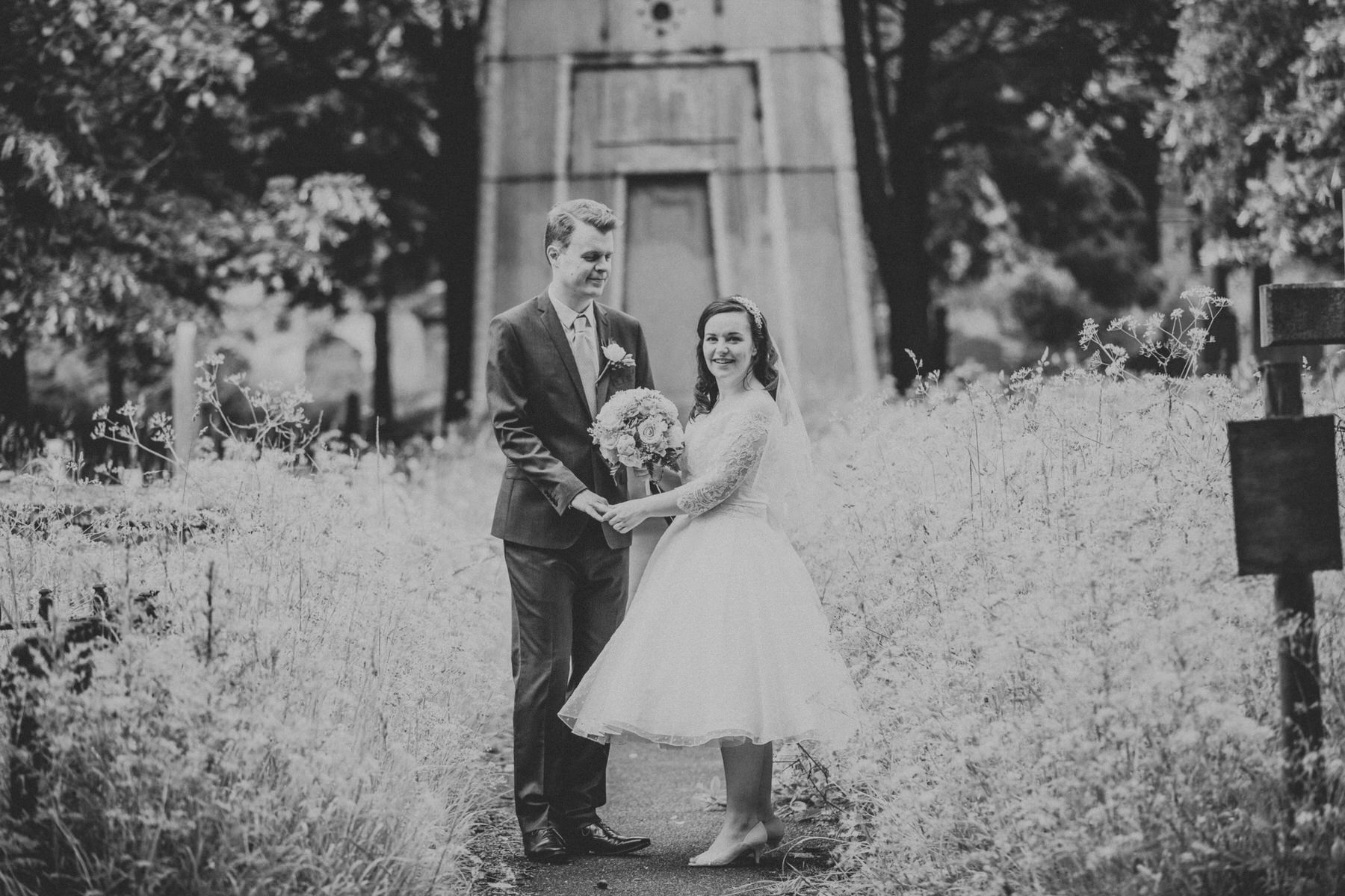 177 BW groom bride wedding portraits Brompton Cemetery.jpg