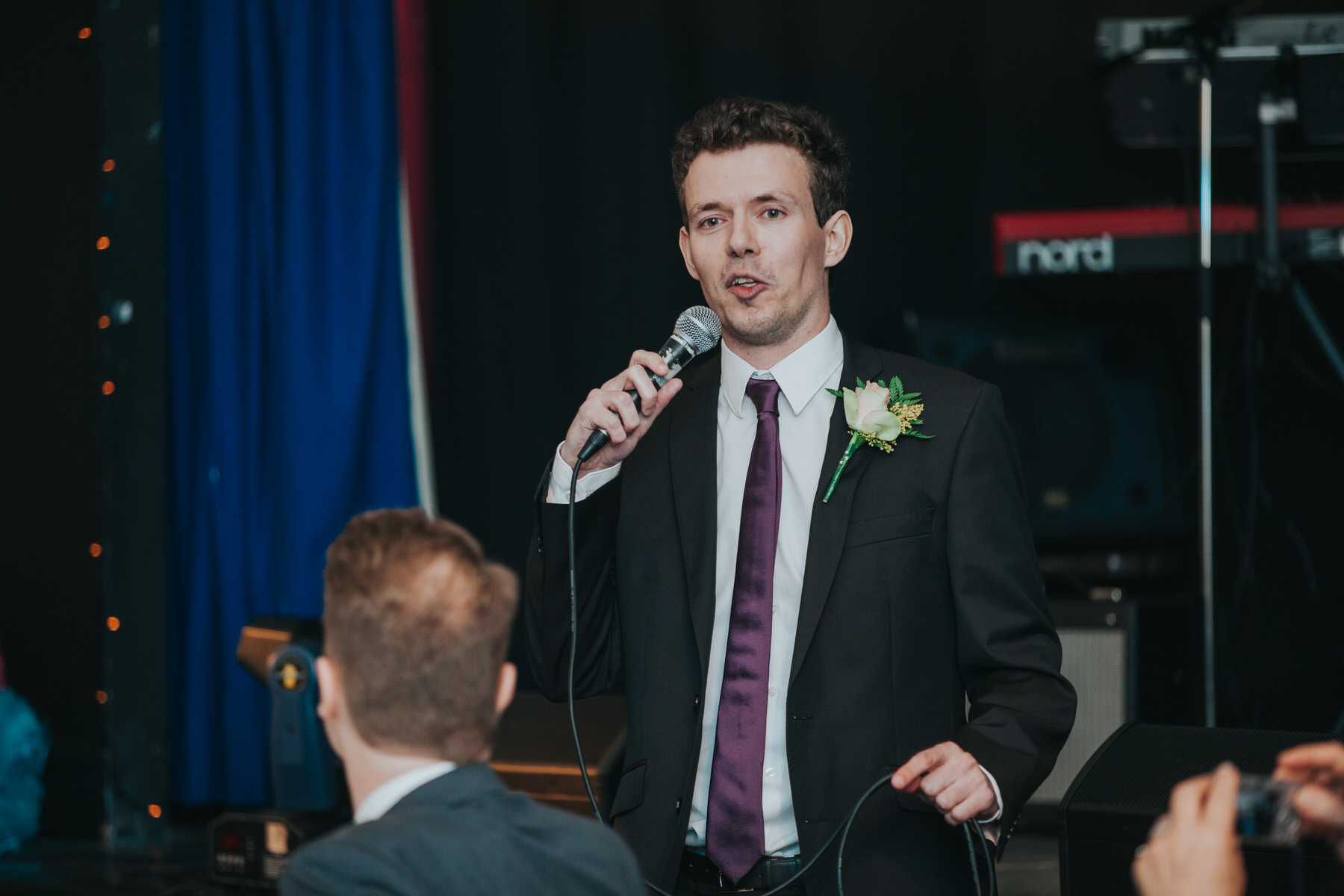 239 best man speech school hall wedding reception Fulham.jpg