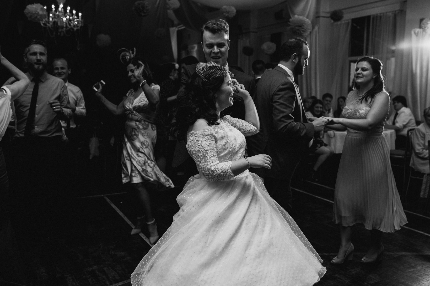 260 first dance school hall wedding reception London.jpg