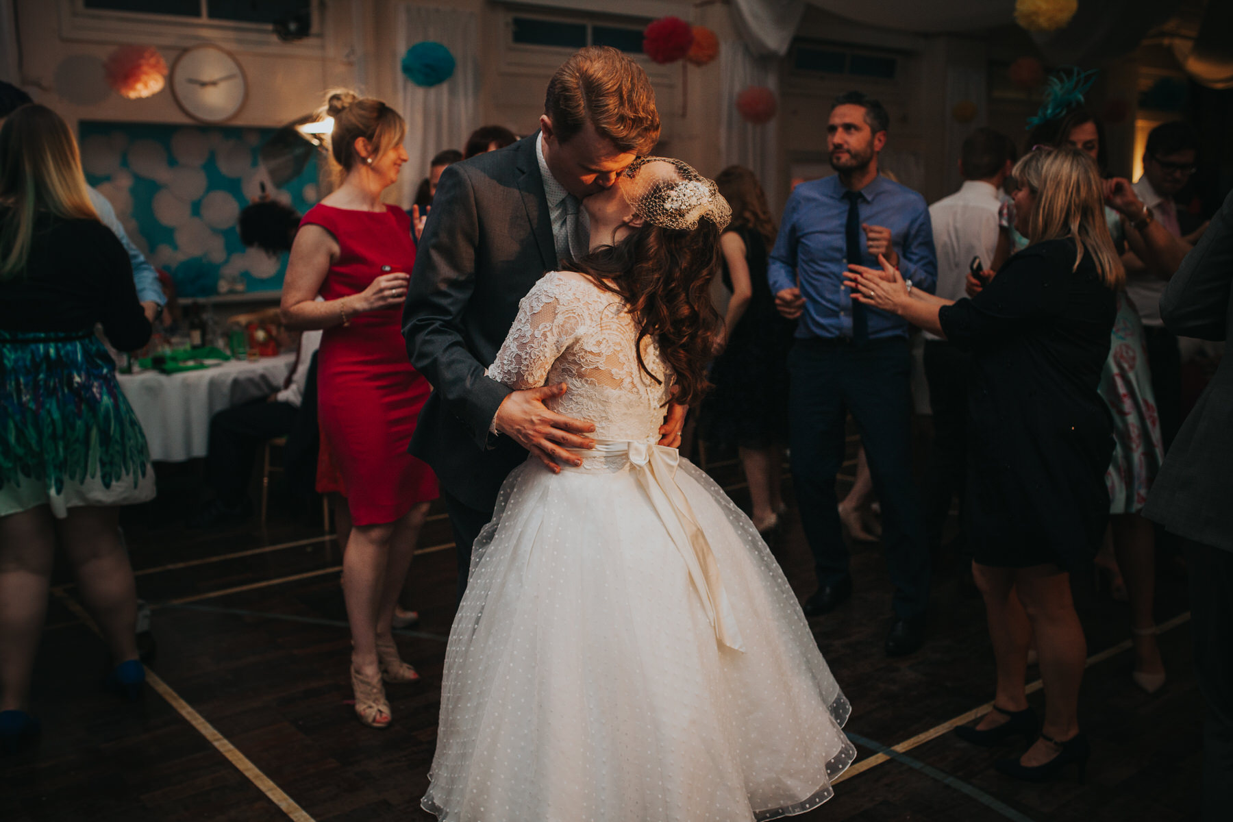 261 first dance school hall wedding reception London.jpg