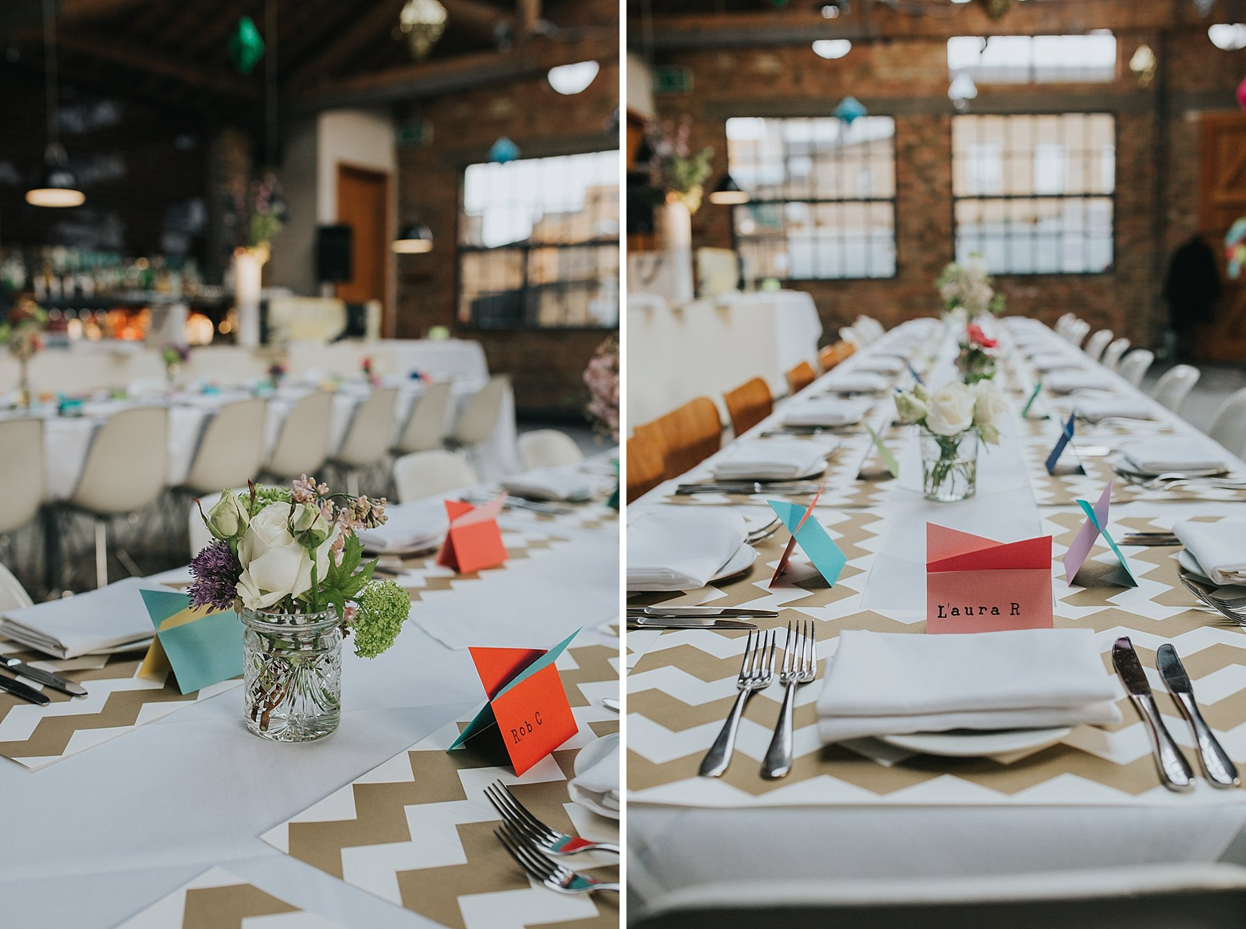 11-St Chads Place wedding gold chevron table styling.jpg