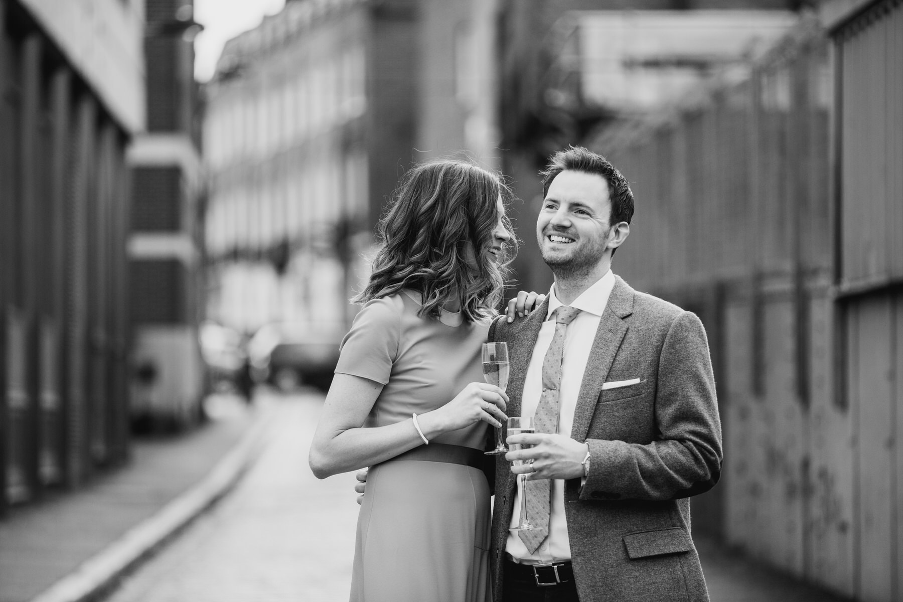 34-St Chads Place outside relaxed couple portraits BW.jpg