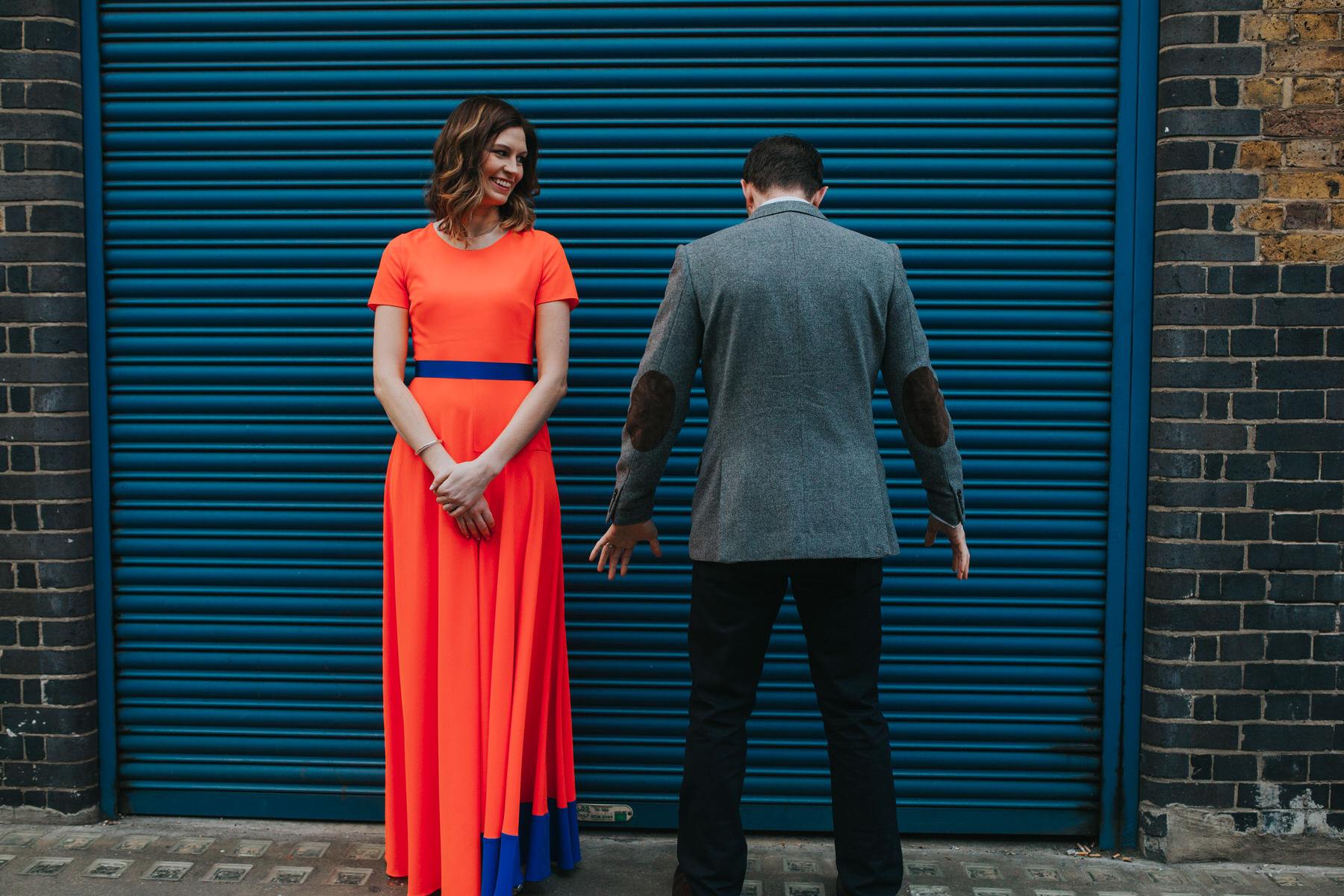 77-London bride groom blue metal door.jpg