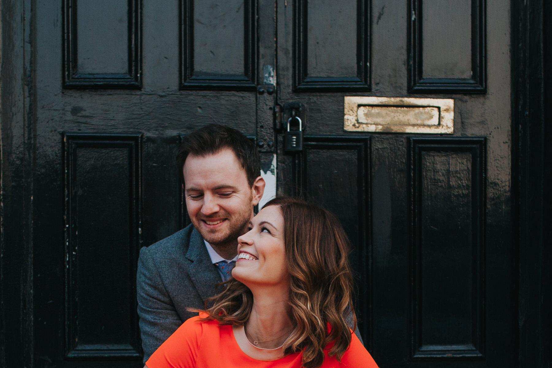 81-London wedding couple portrait black door.jpg