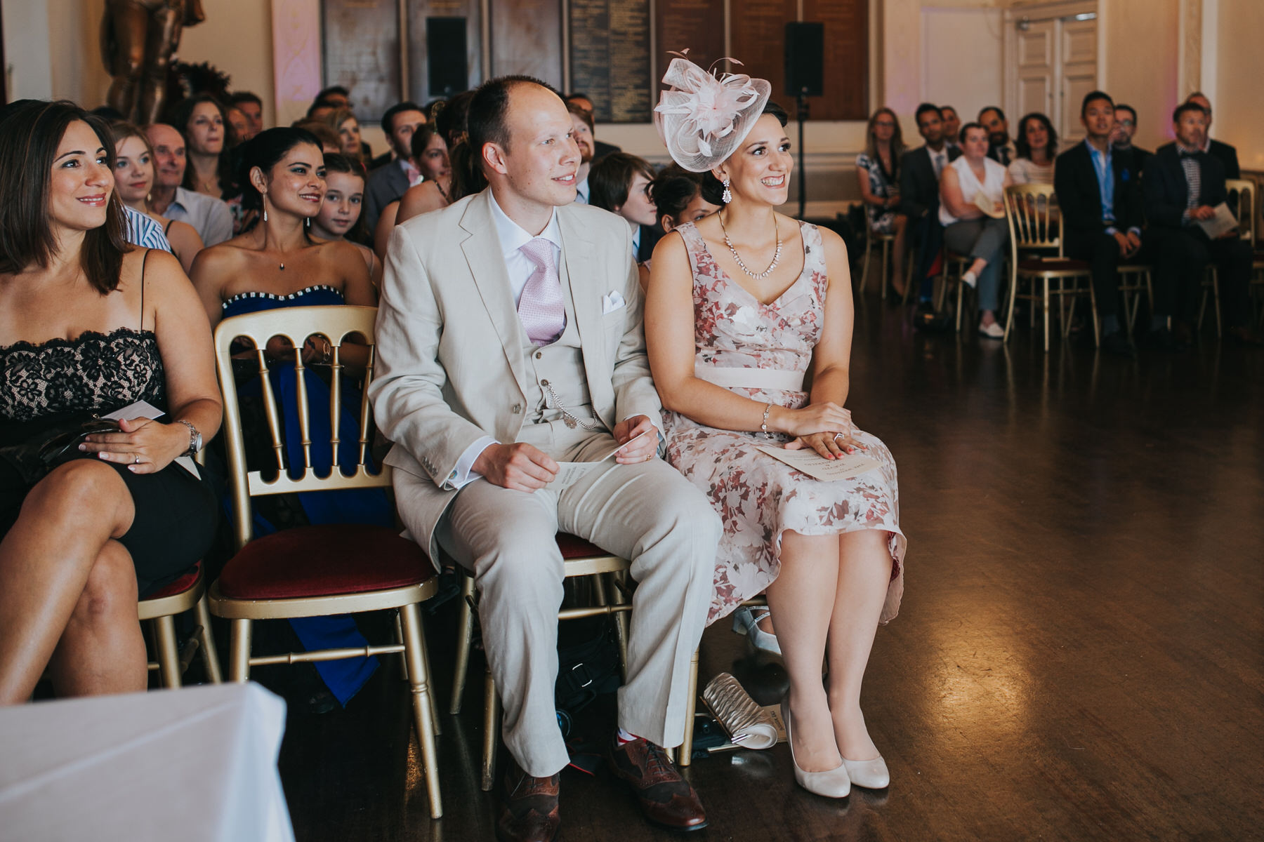 69 Trafalgar Tavern  wedding guests ceremony.jpg