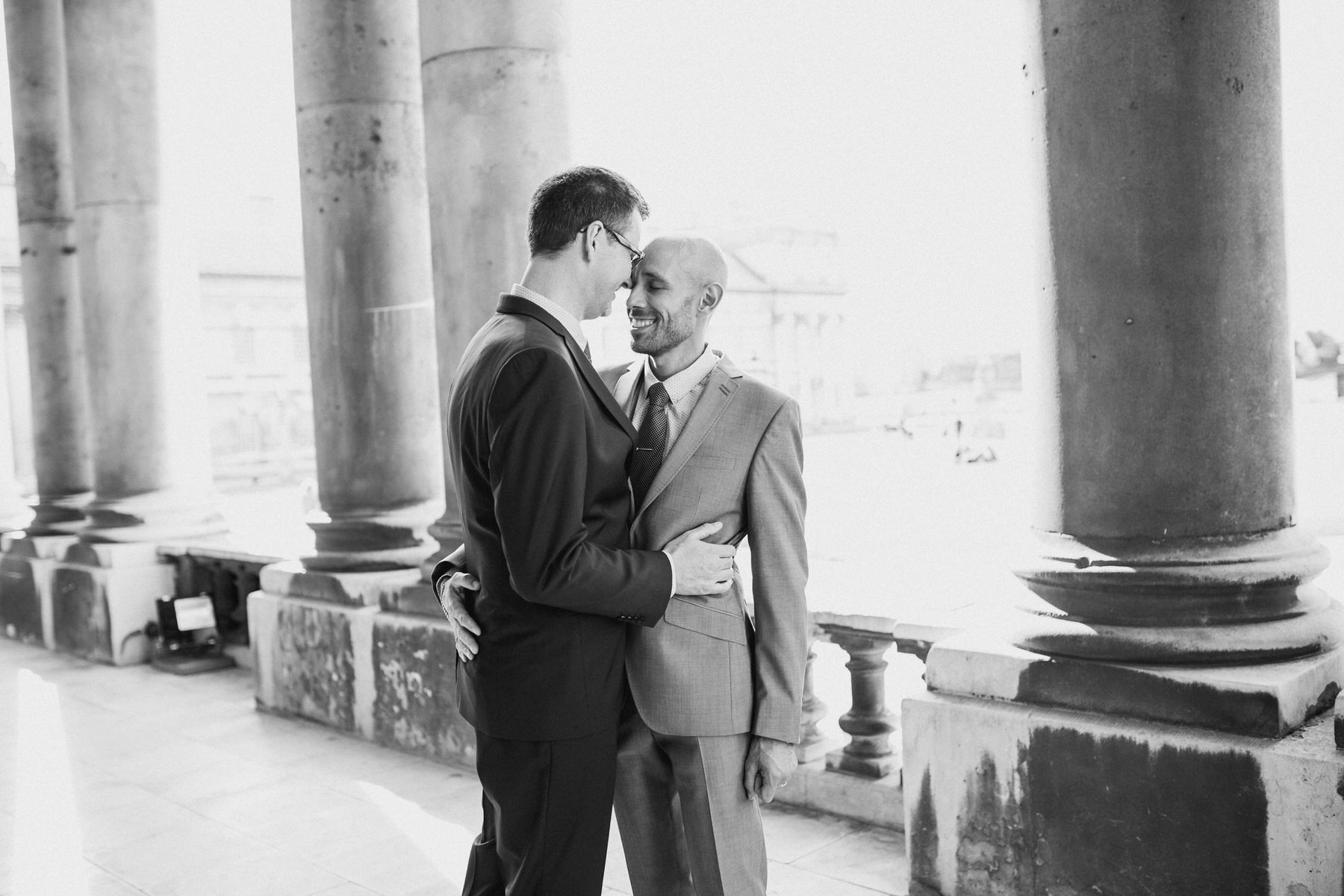 125 intimate moment between newly married grooms London.jpg