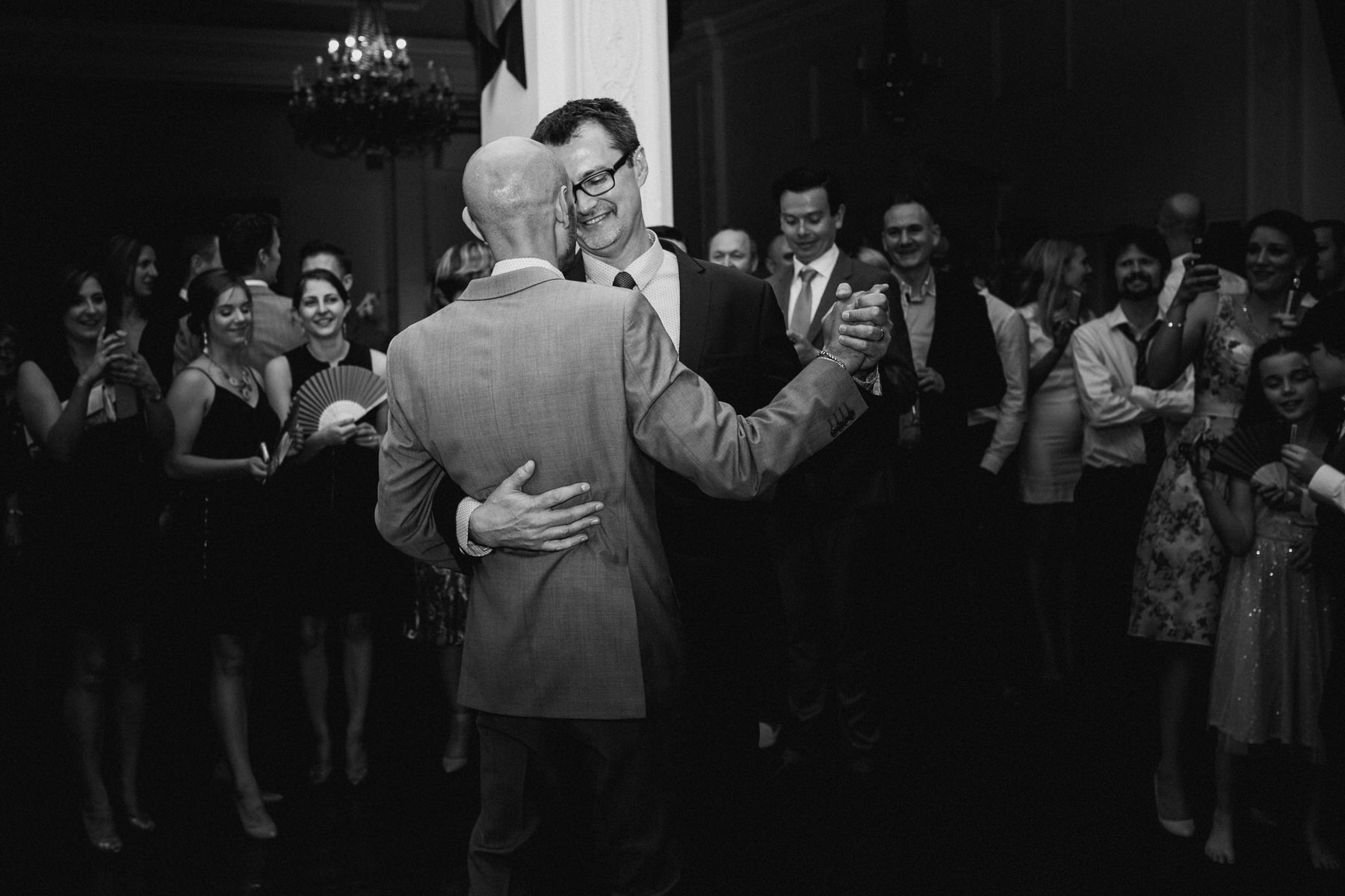 229 Trafalgar Tavern Same sex wedding first dance.jpg
