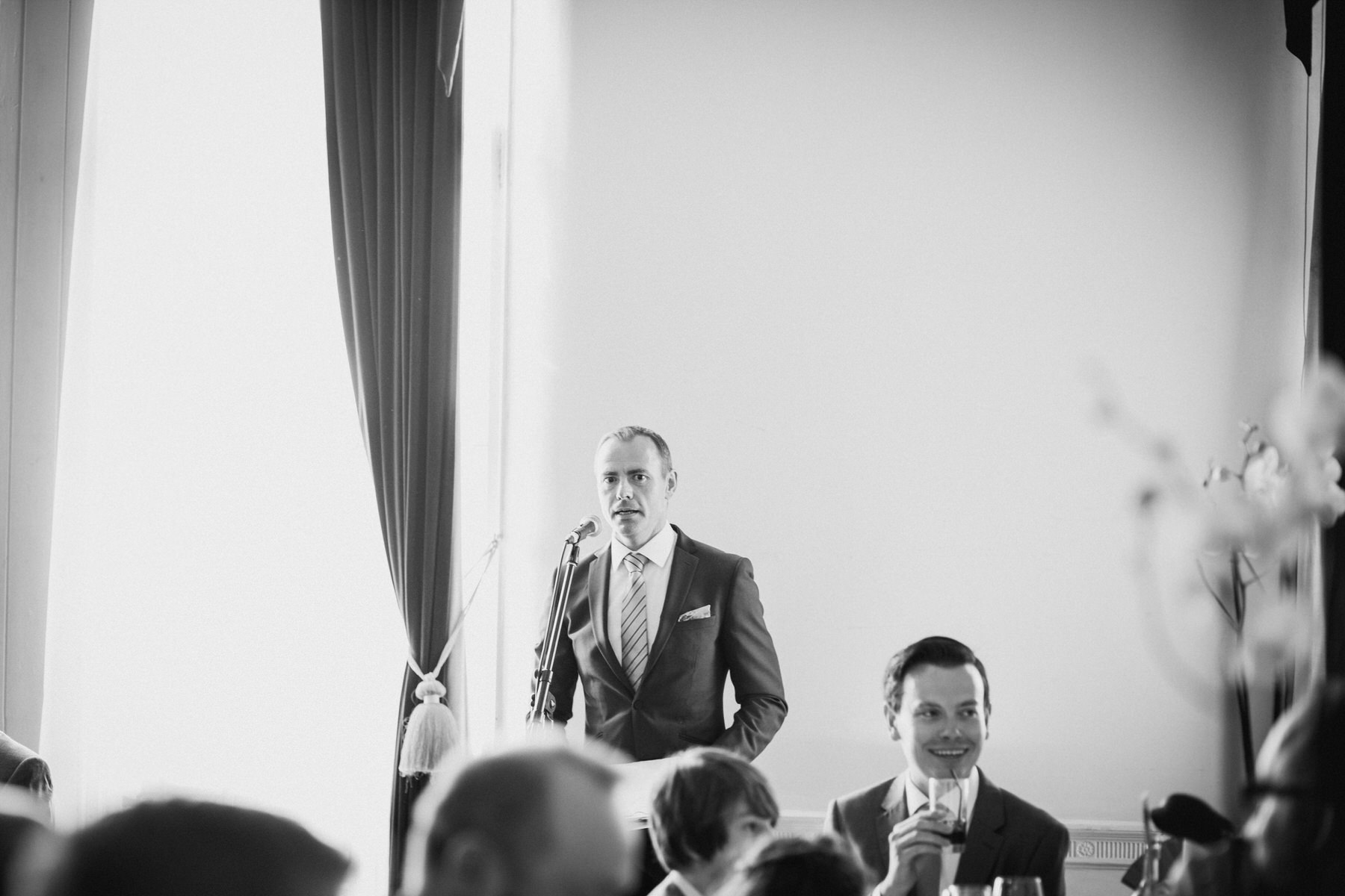 169 Greenwich Wedding speeches BW.jpg