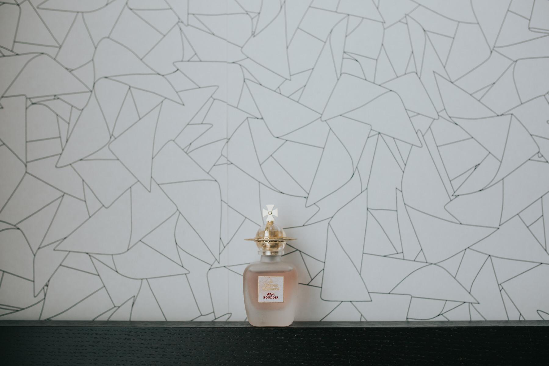 15-Vivienne westwood perfume bridal preparations against graphic wallpaper.jpg