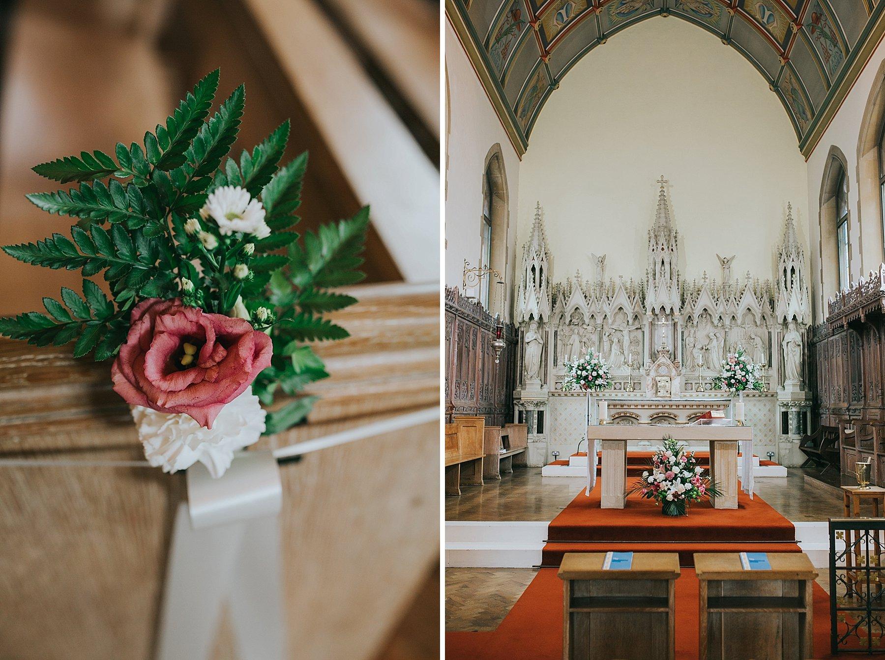 50-St Thomas More Church Dulwich wedding flowers.jpg