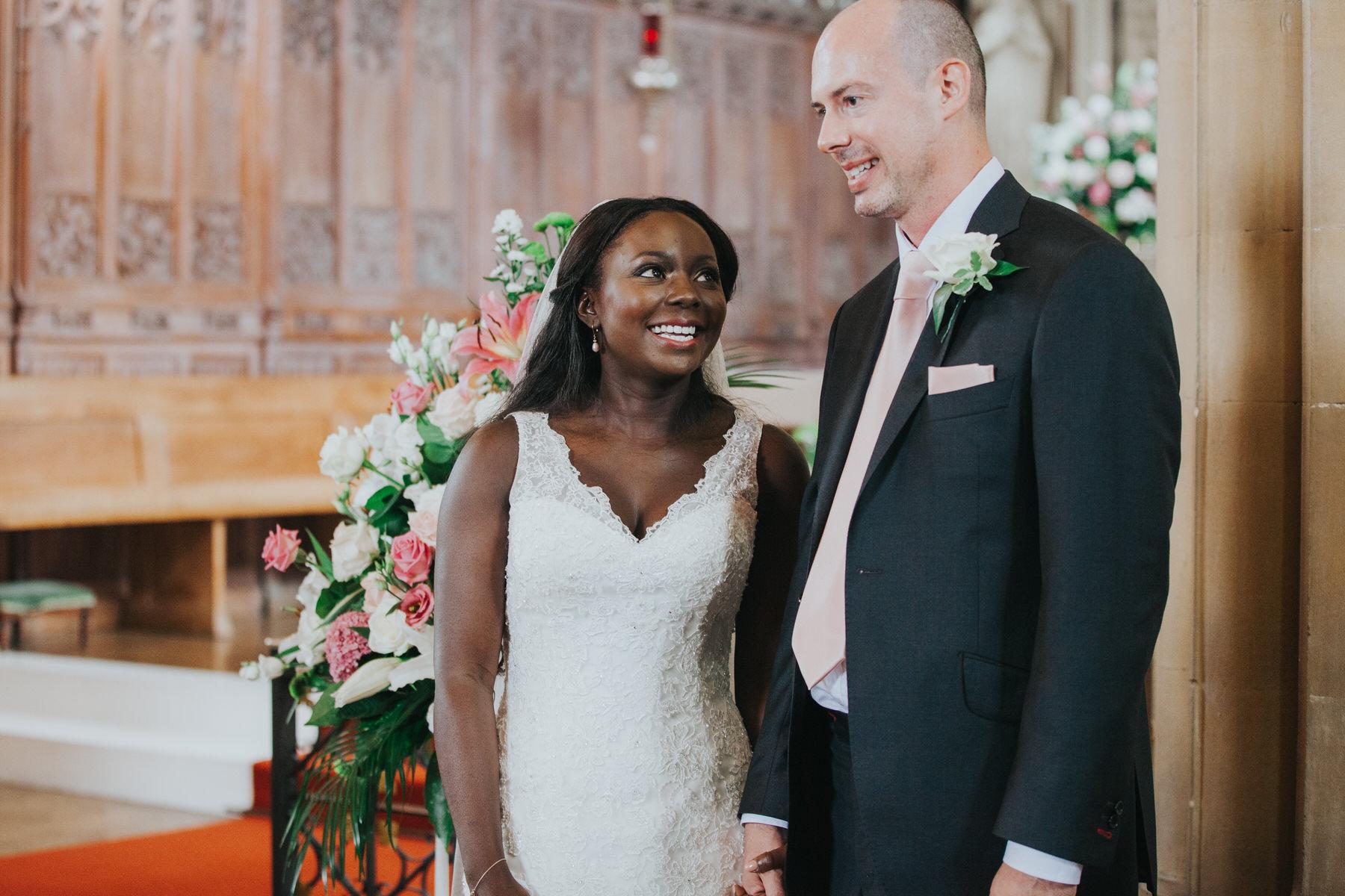 82 just married bride and groom London church wedding.jpg