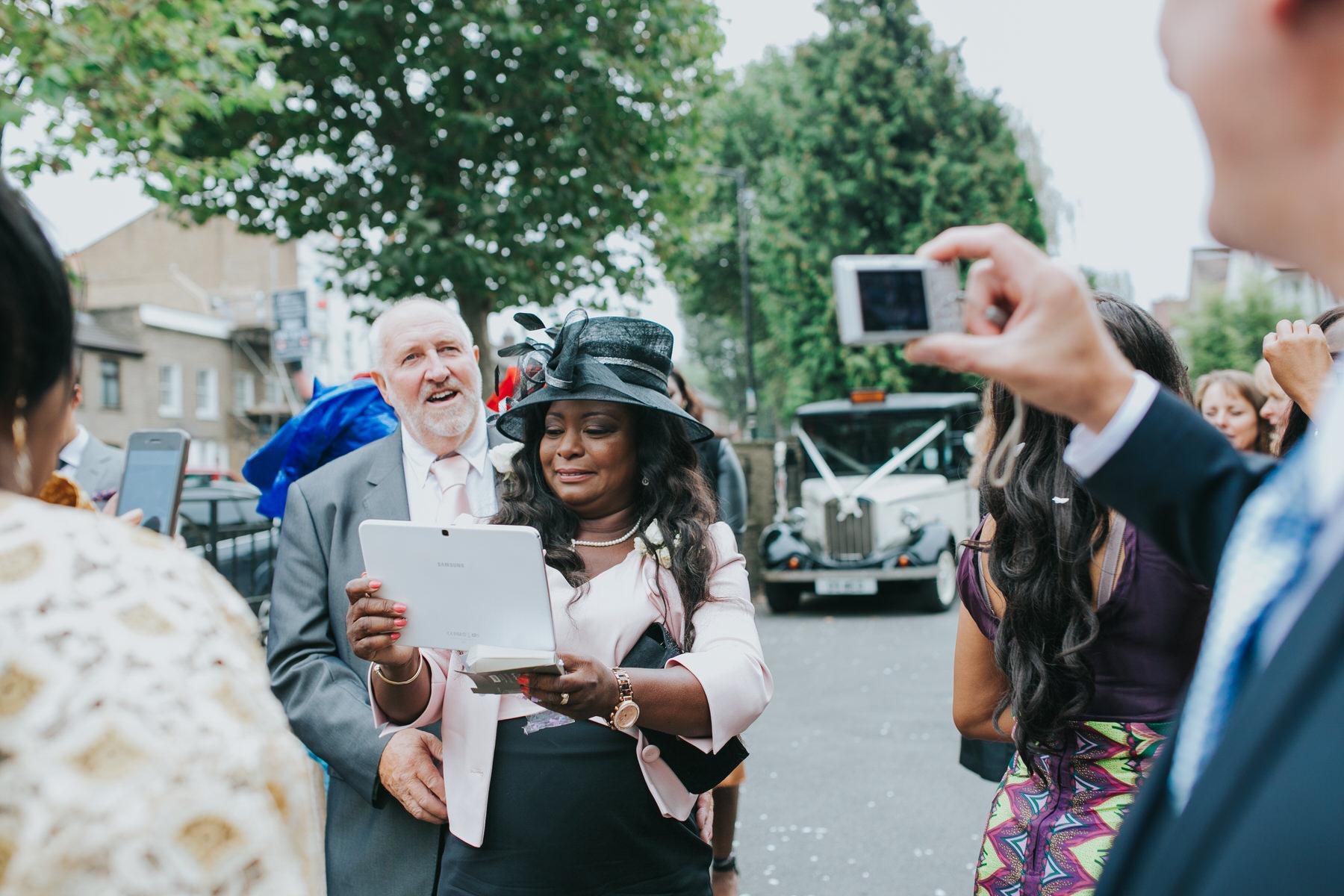 113 mobile phone wedding photography Dulwich.jpg