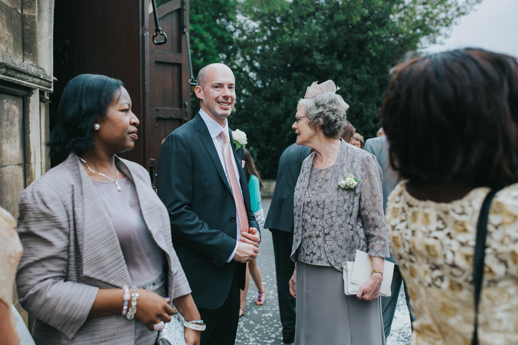 121 happy groom after Dulwich wedding ceremony.jpg