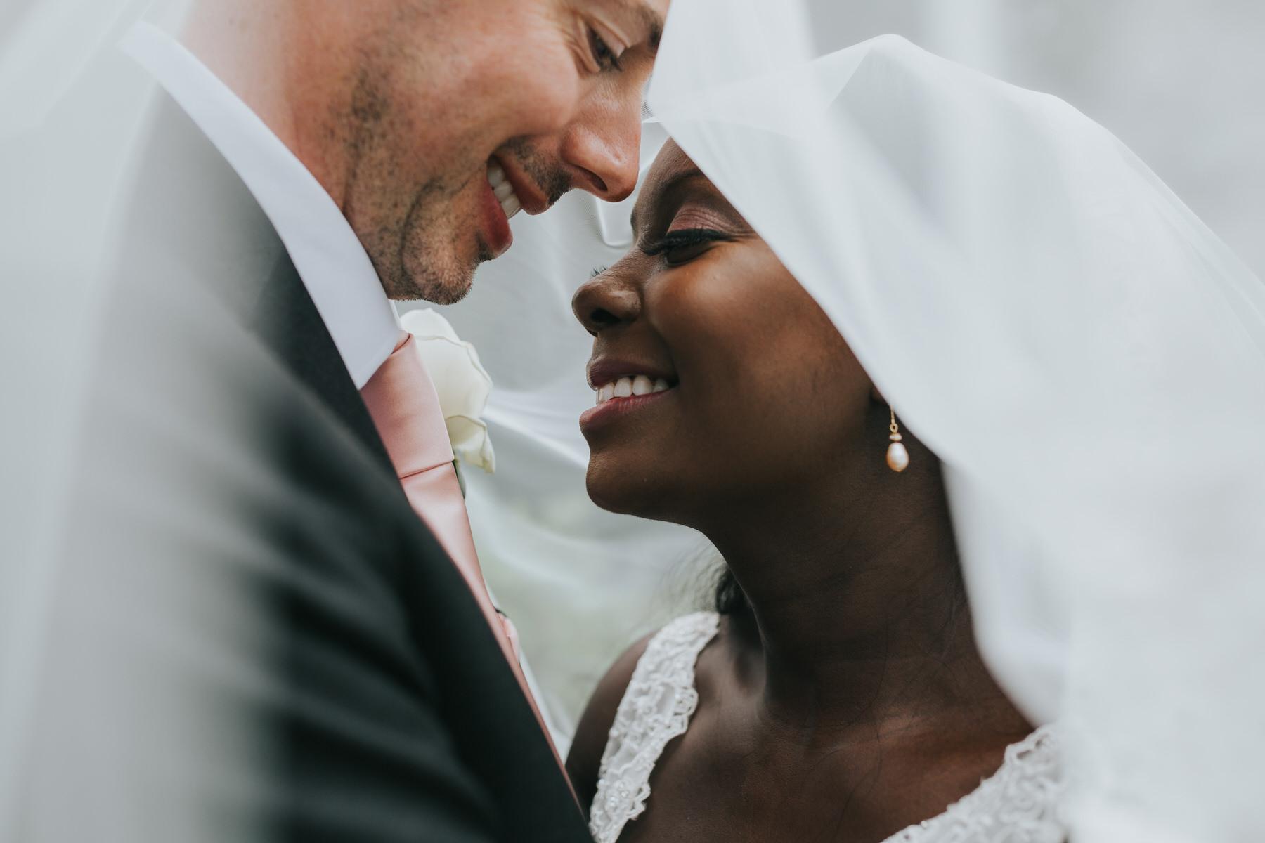 228 just marrried Dulwich groom bride veil shot.jpg