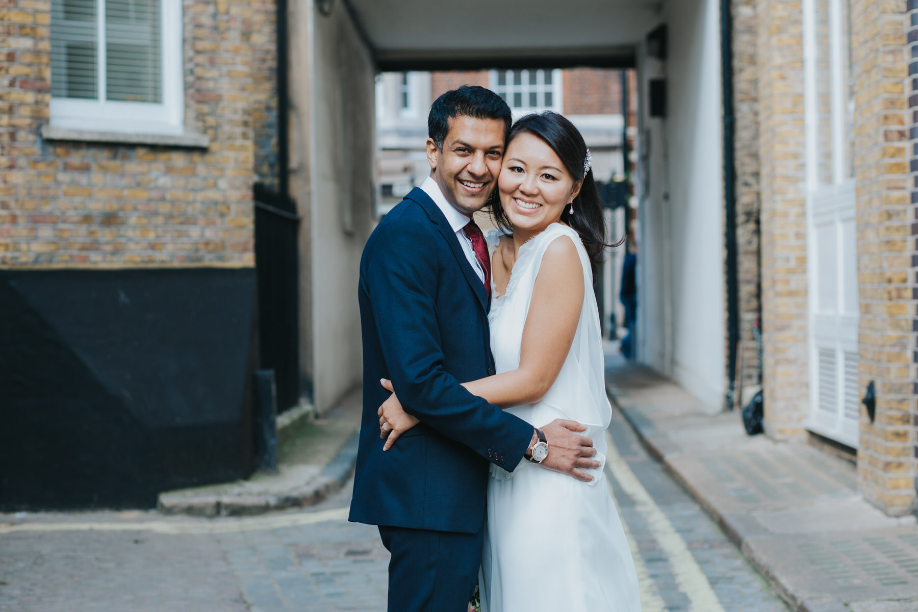 natural wedding photographer London Asia House