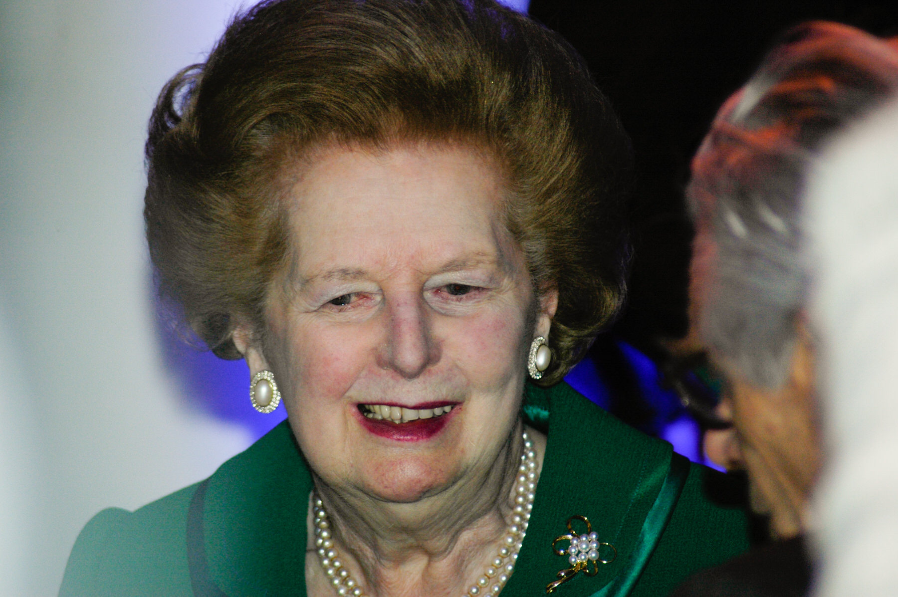 13-Dame Vera Lynn 90th birthday Imperial war Museum Margaret Thatcher.jpg