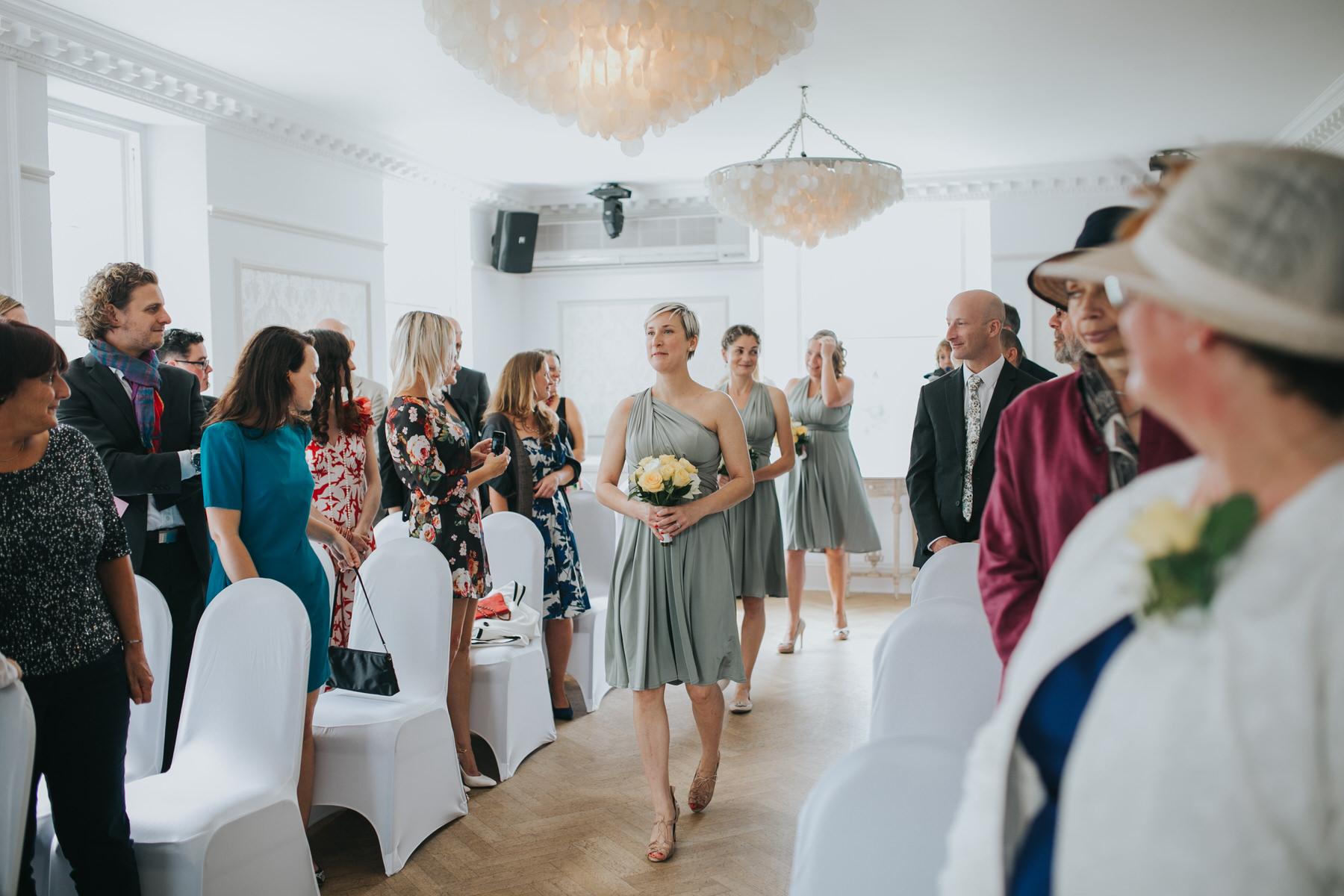 84 bridesmaids coming down aisle Belair House wedding ceremony.jpg