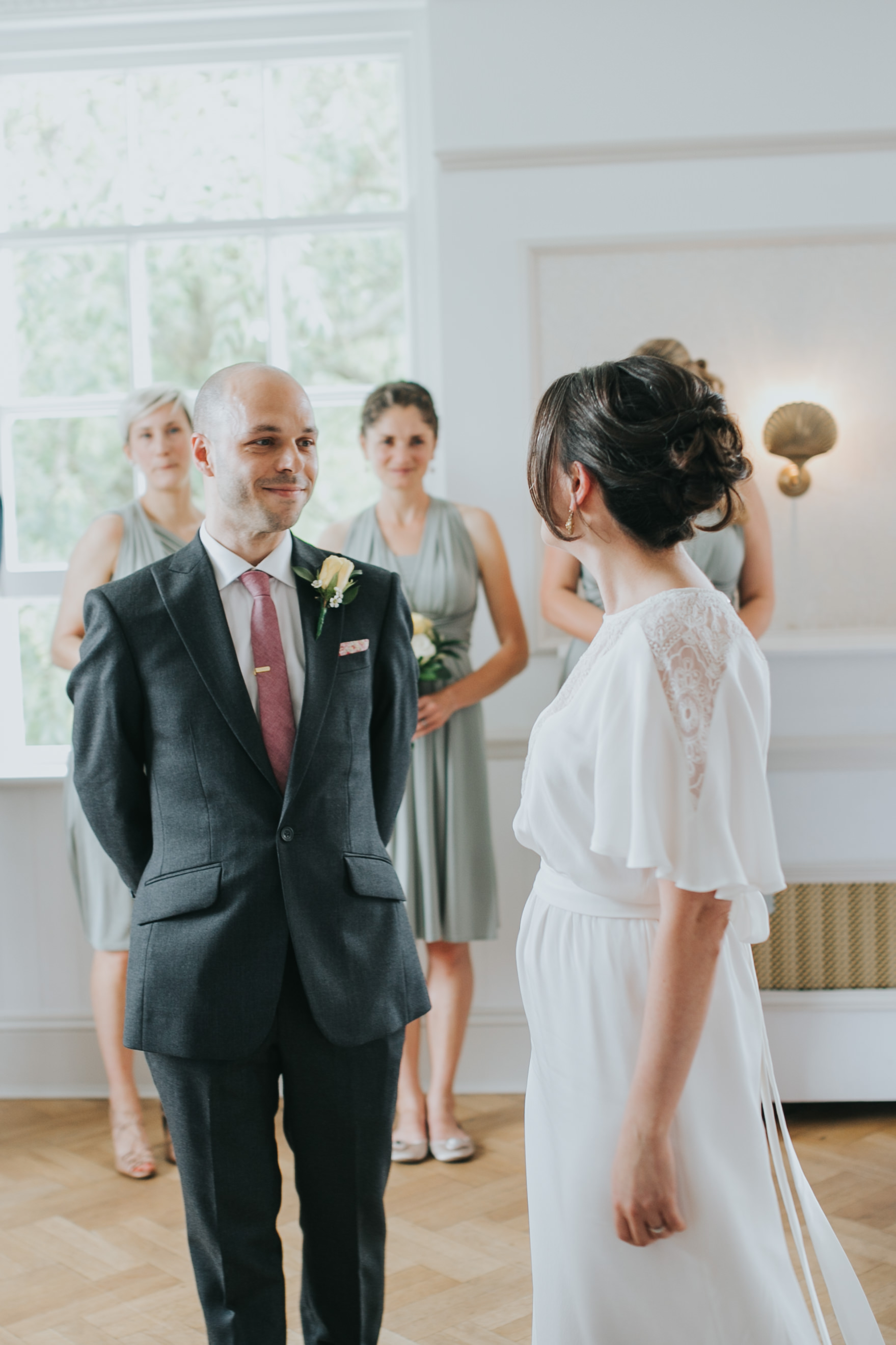 91 groom sees bride first time Belair House marriage ceremony.jpg