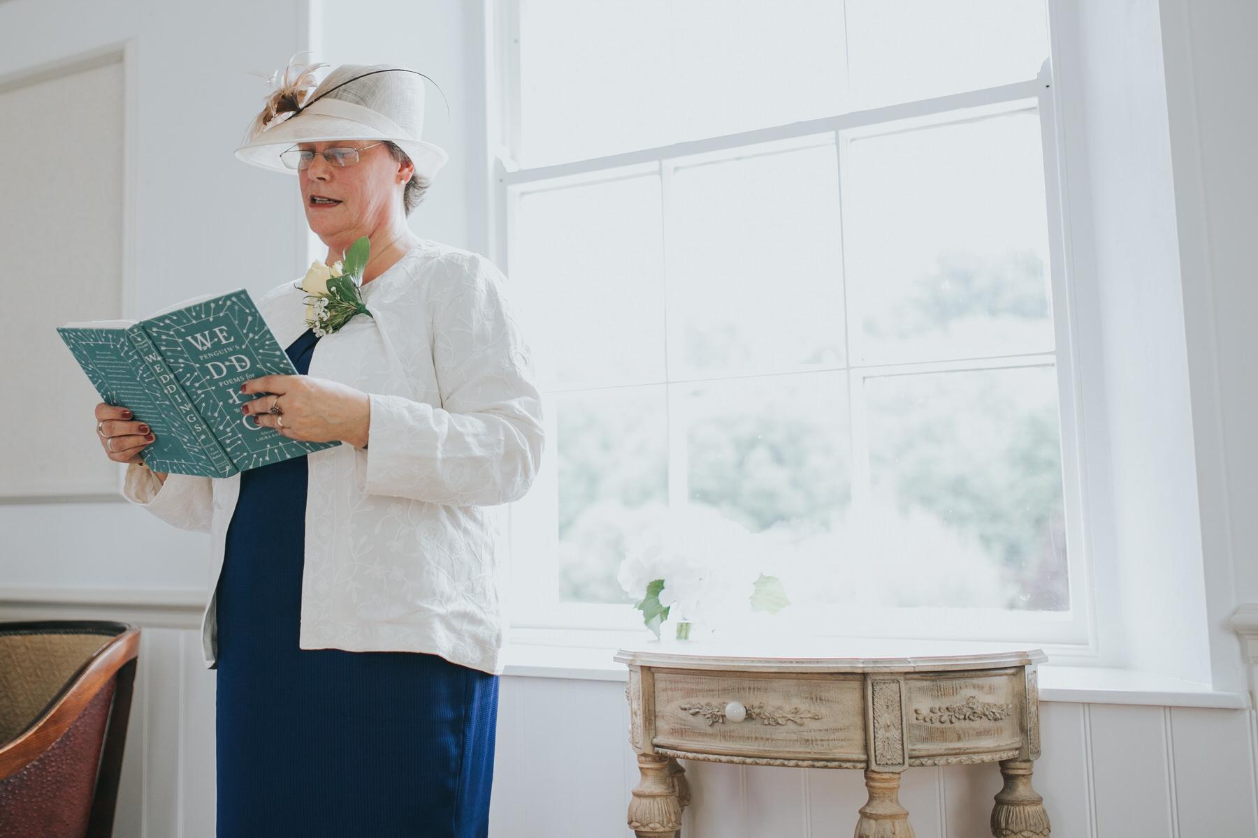92 brides mother reading Dulwich wedding ceremony.jpg