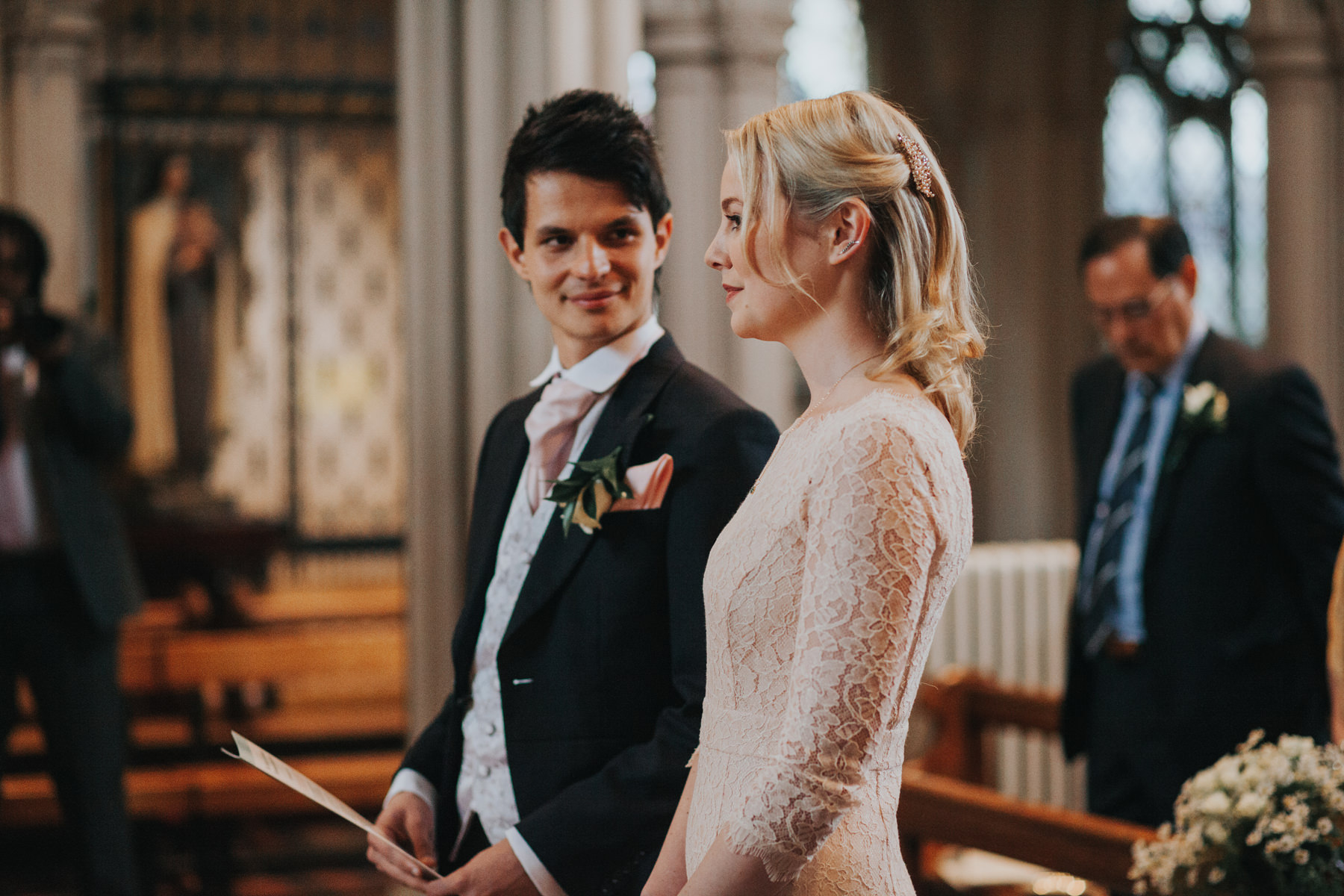 bride groom marriage ceremony Clapham church.jpg