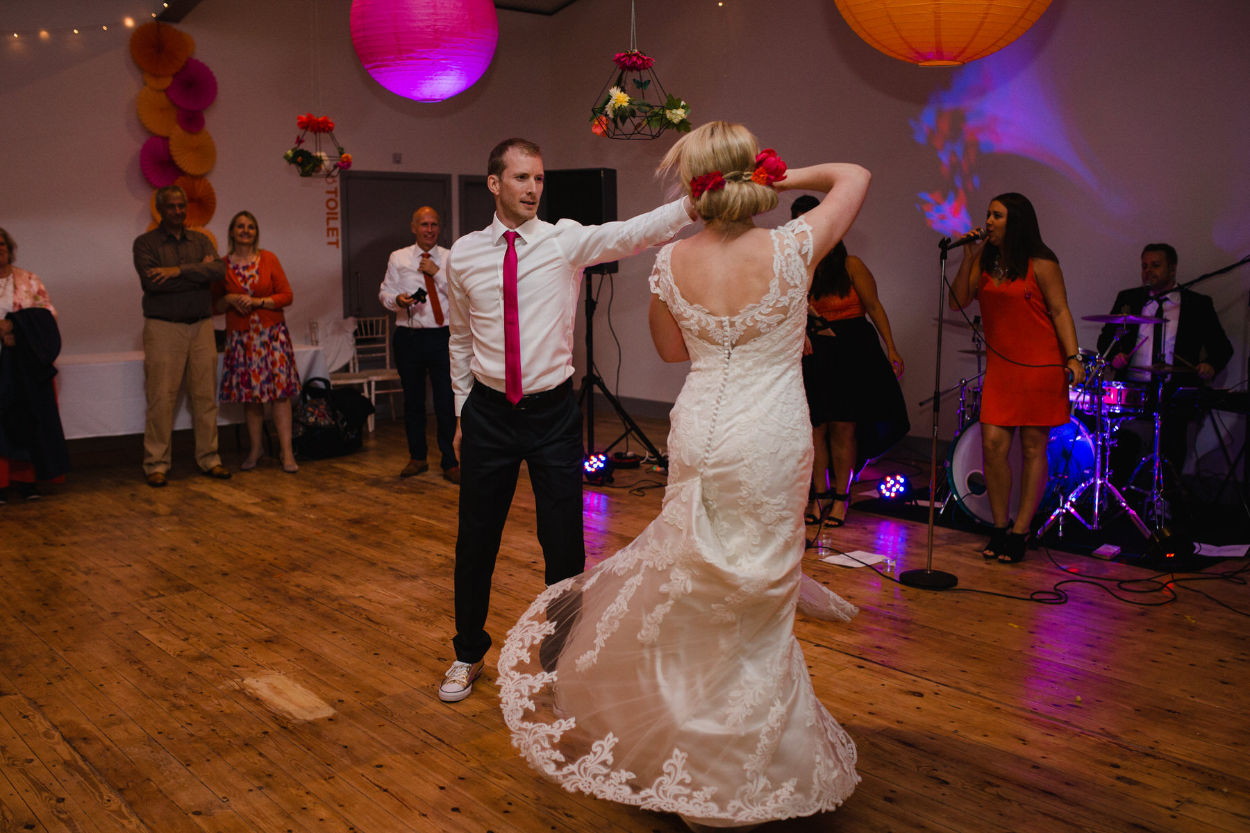 Lea Rowing Club bride groom first dance.jpg