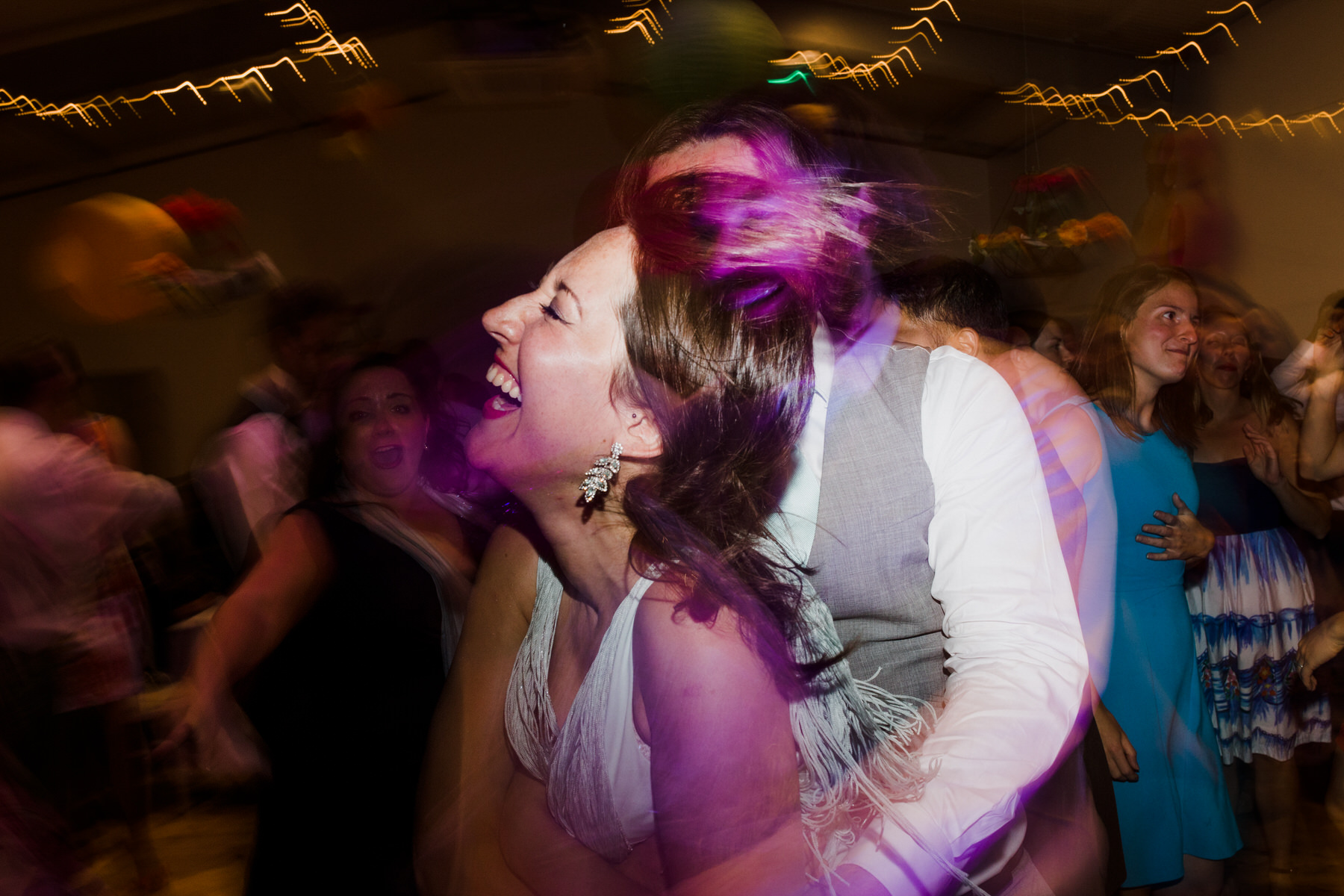Lea Rowing Club wedding guests light trails part shots.jpg