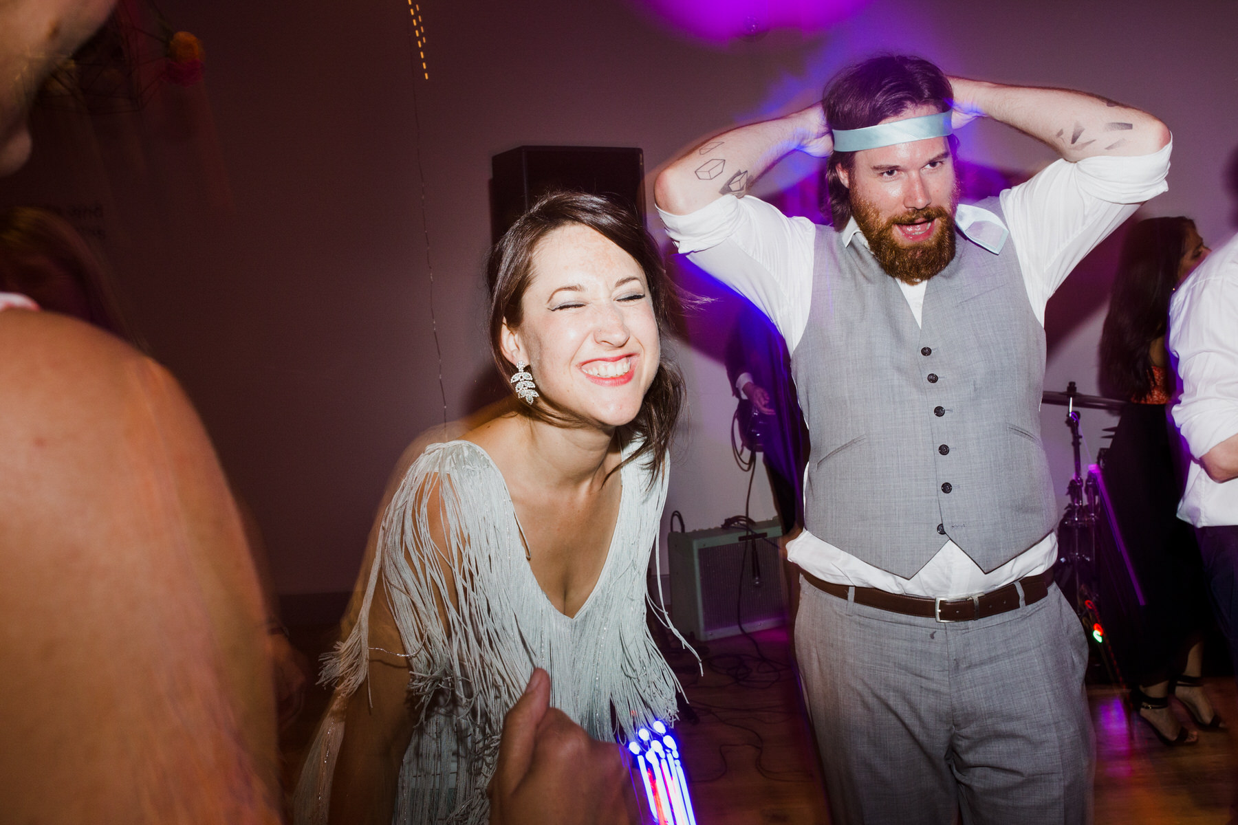 Lea Rowing Club wedding guests partying.jpg