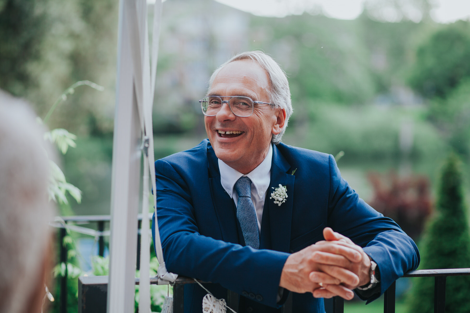 brides father smiling Bingham Hotel wedding.jpg