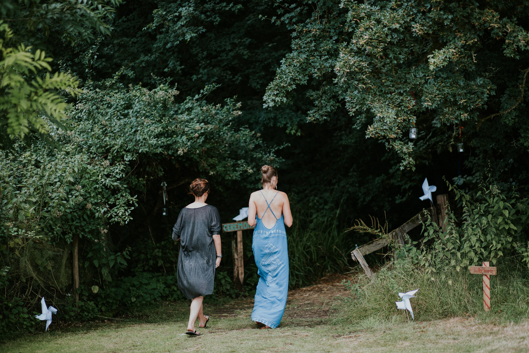 15 guests entering Paper Mill Woodland Wedding.jpg
